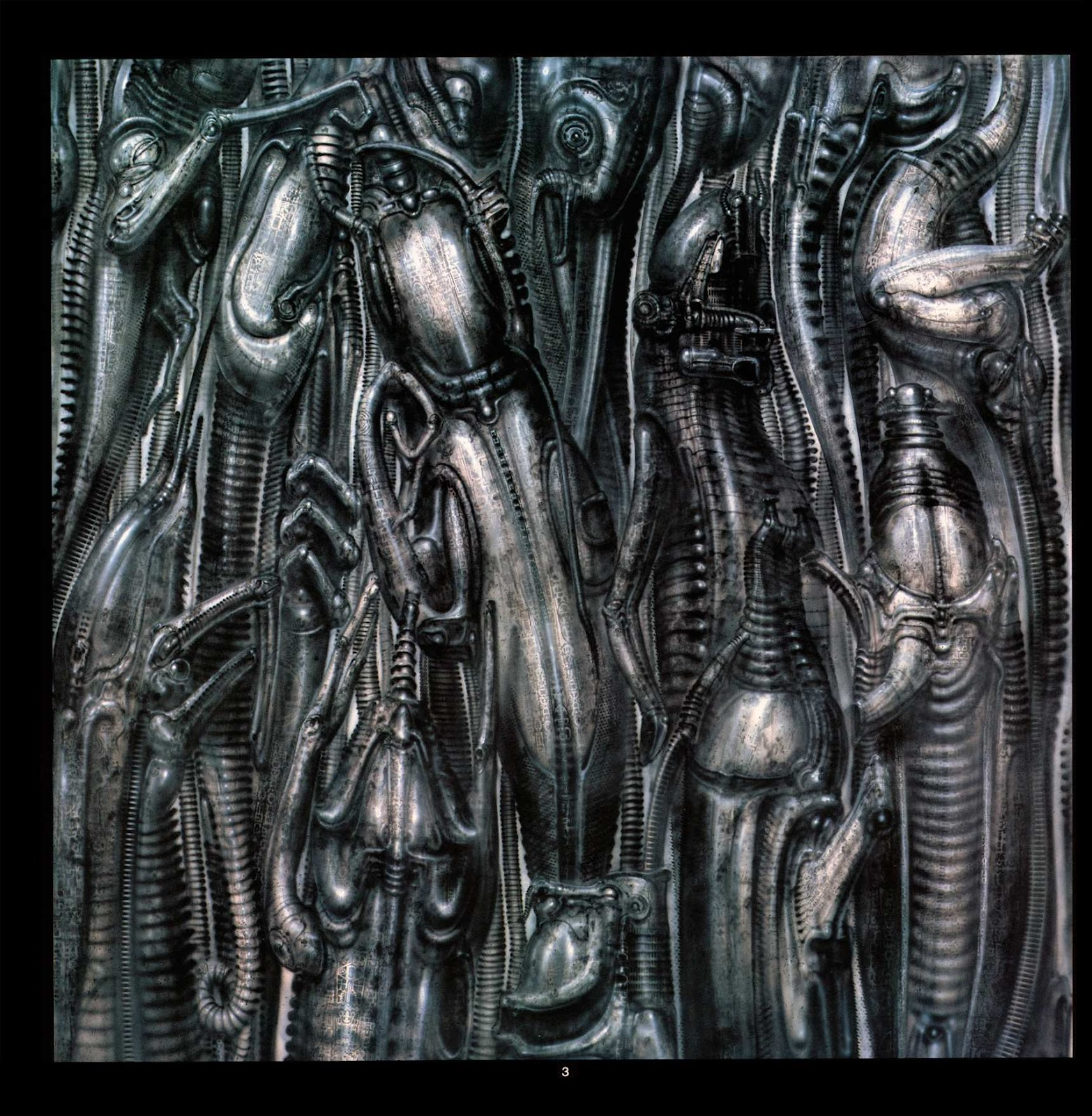 Read online Giger's Alien comic -  Issue # TPB - 5