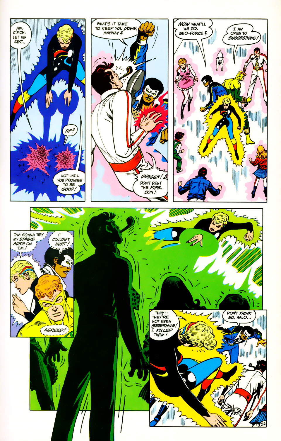 Read online Adventures of the Outsiders comic -  Issue #39 - 27