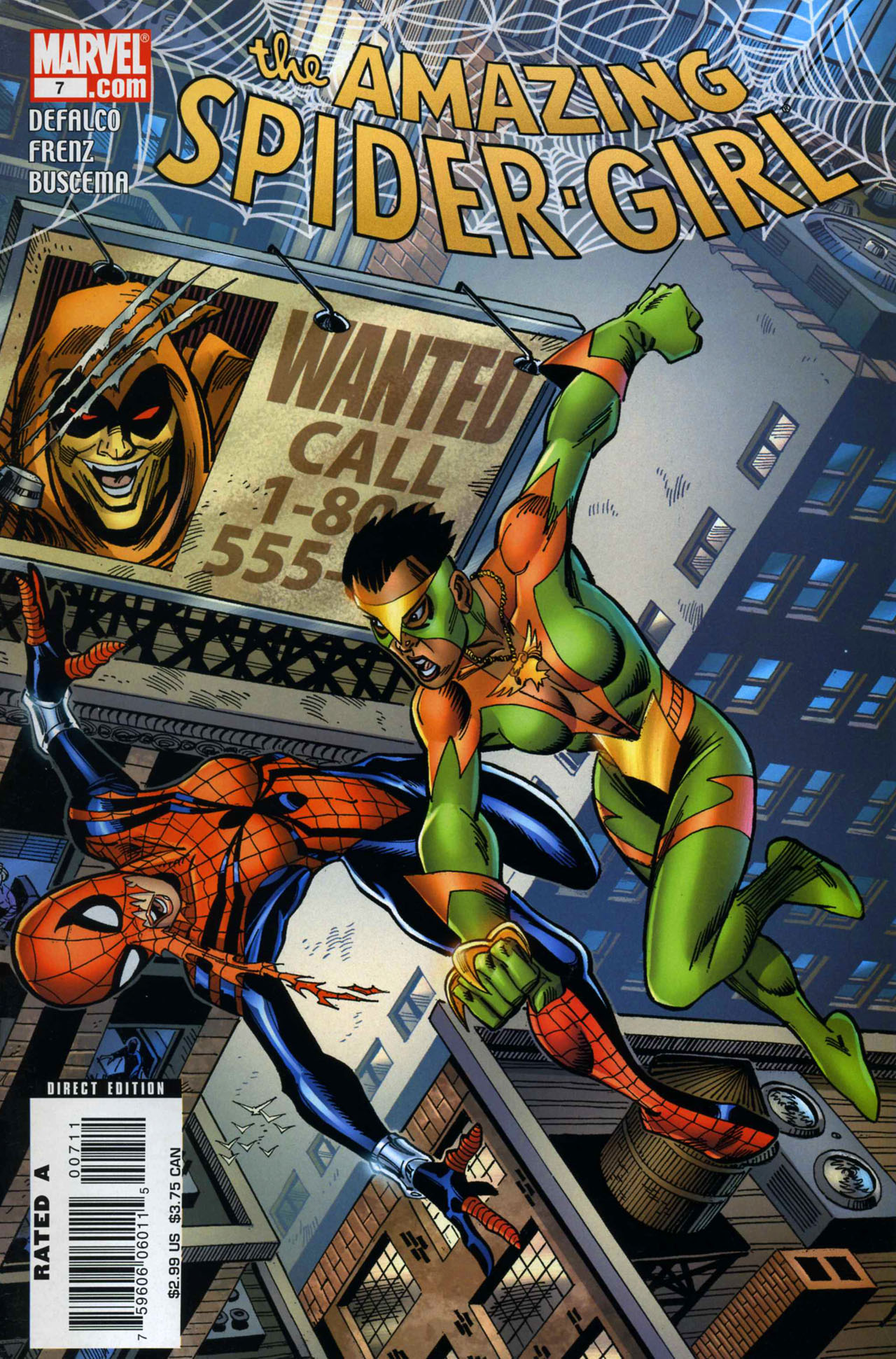 Read online Amazing Spider-Girl comic -  Issue #7 - 2