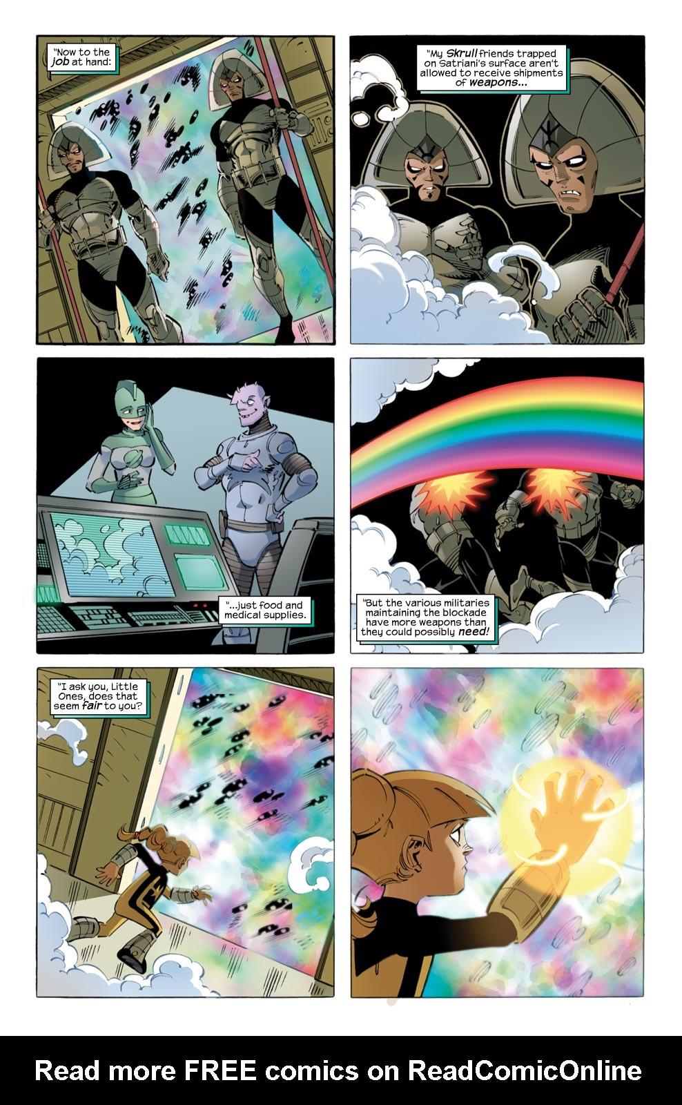 Read online Skrulls vs. Power Pack comic -  Issue #2 - 17