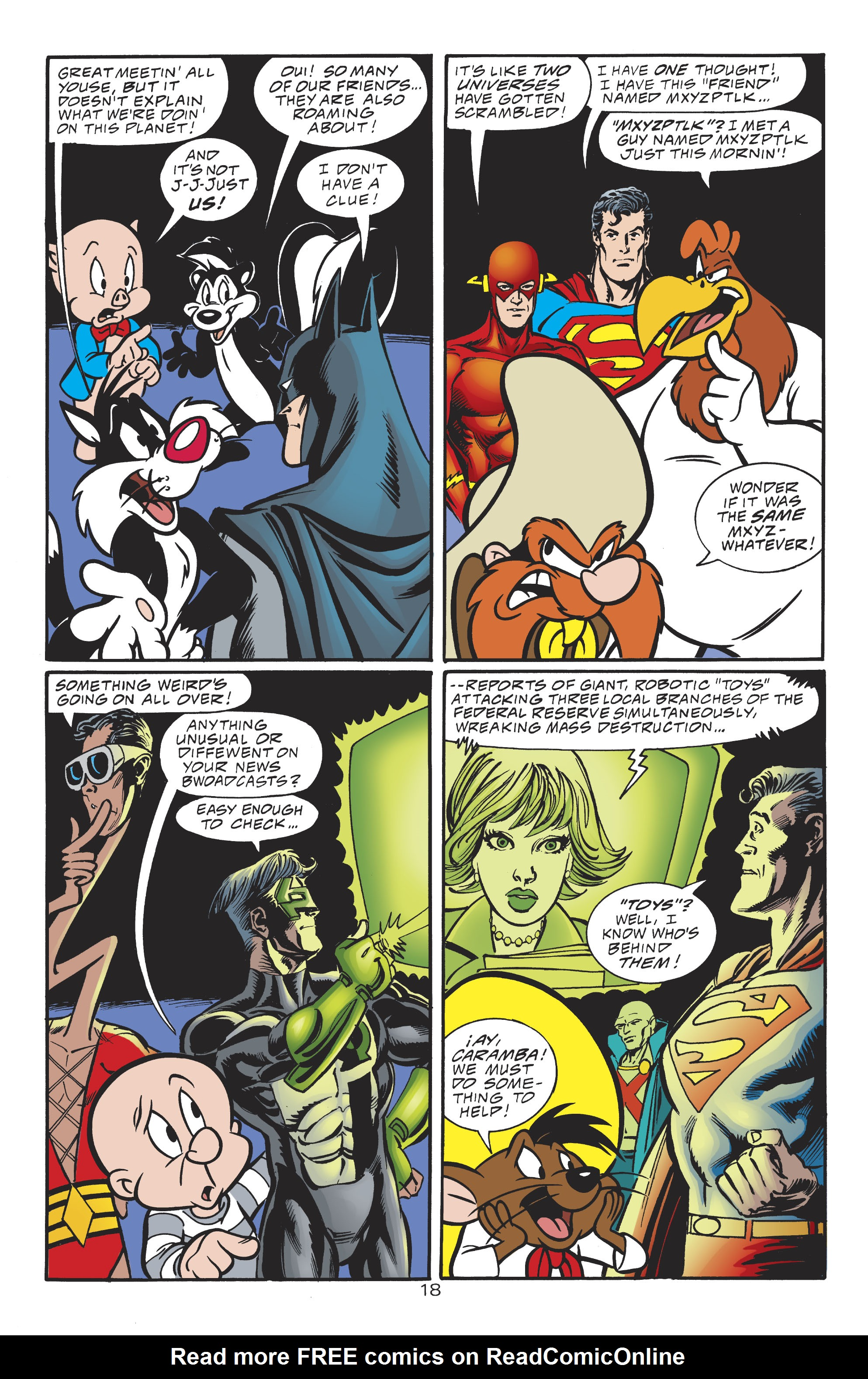 Read online DC/Looney Tunes 100-Page Super Spectacular comic -  Issue # Full - 67