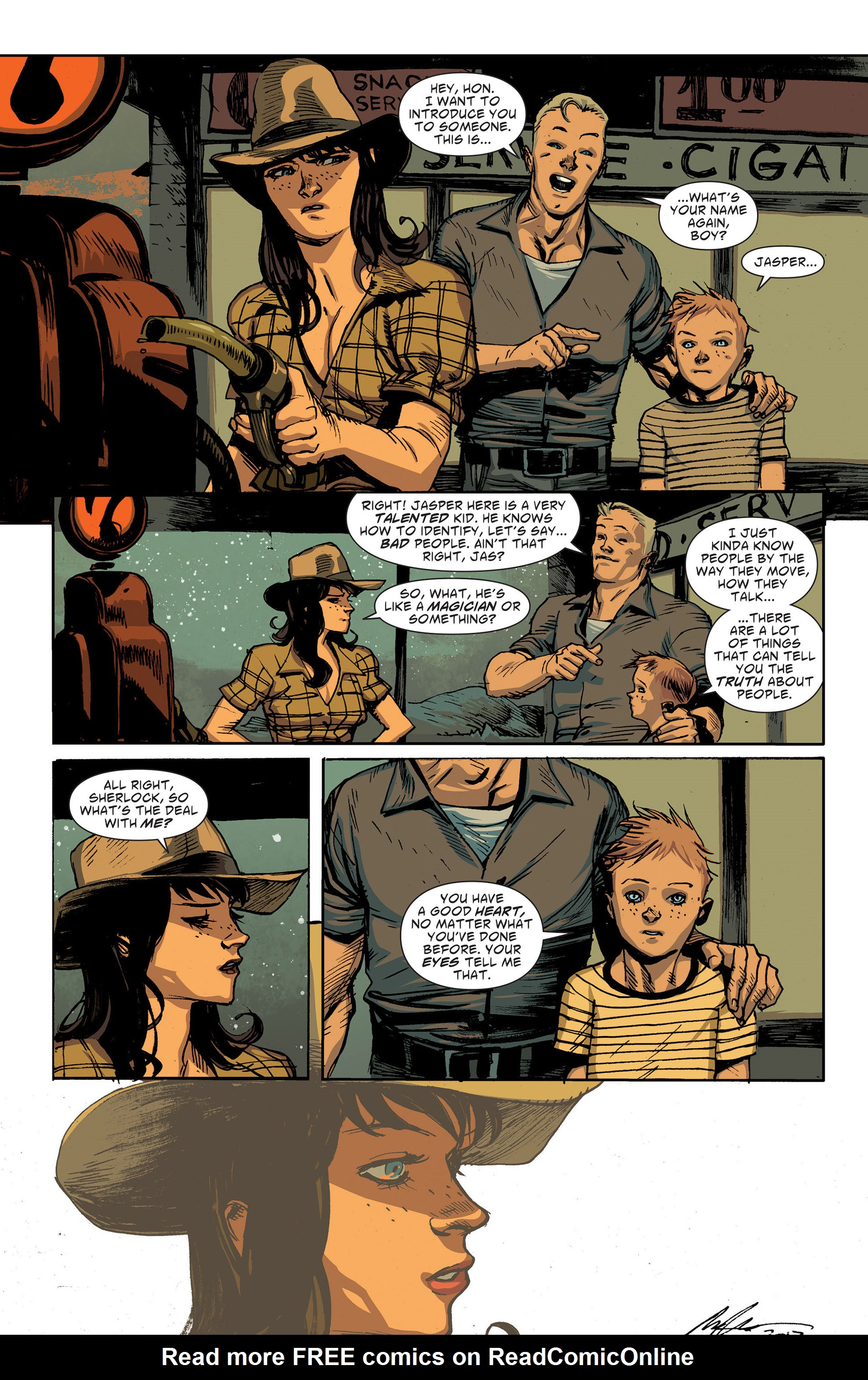 Read online American Vampire: The Long Road To Hell comic -  Issue # Full - 24