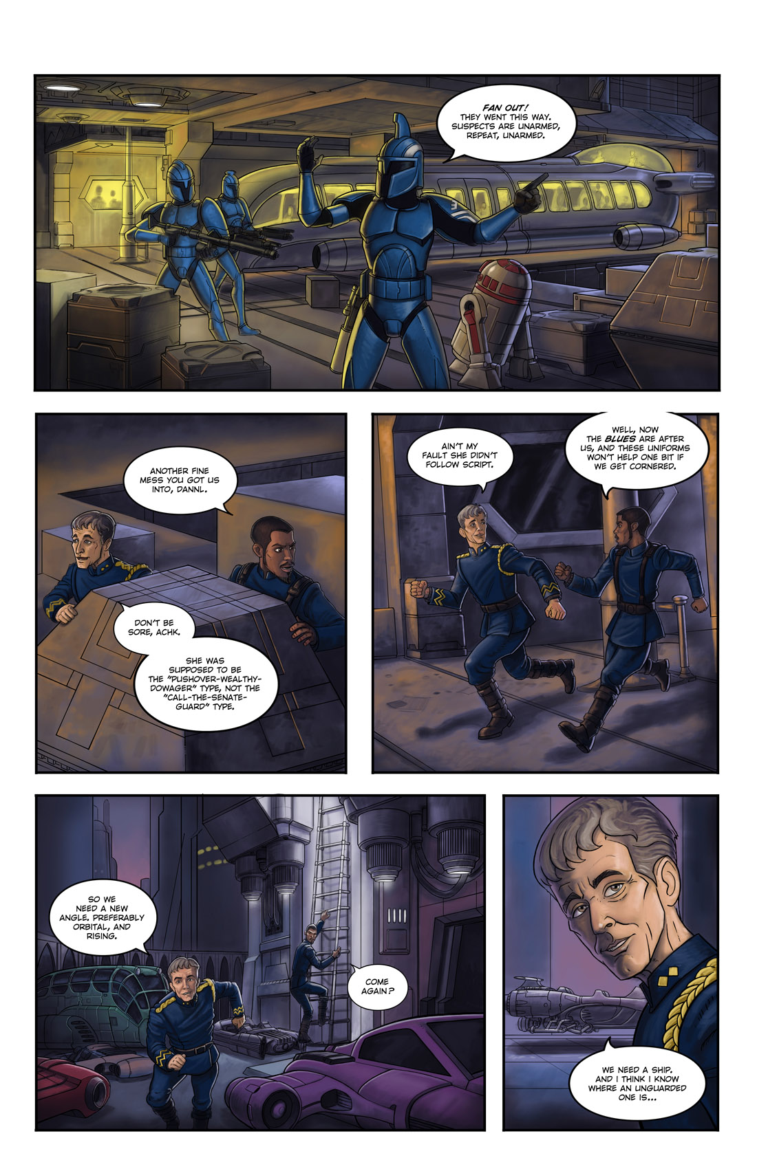 Read online Star Wars: Tales From The Clone Wars comic -  Issue # TPB - 55