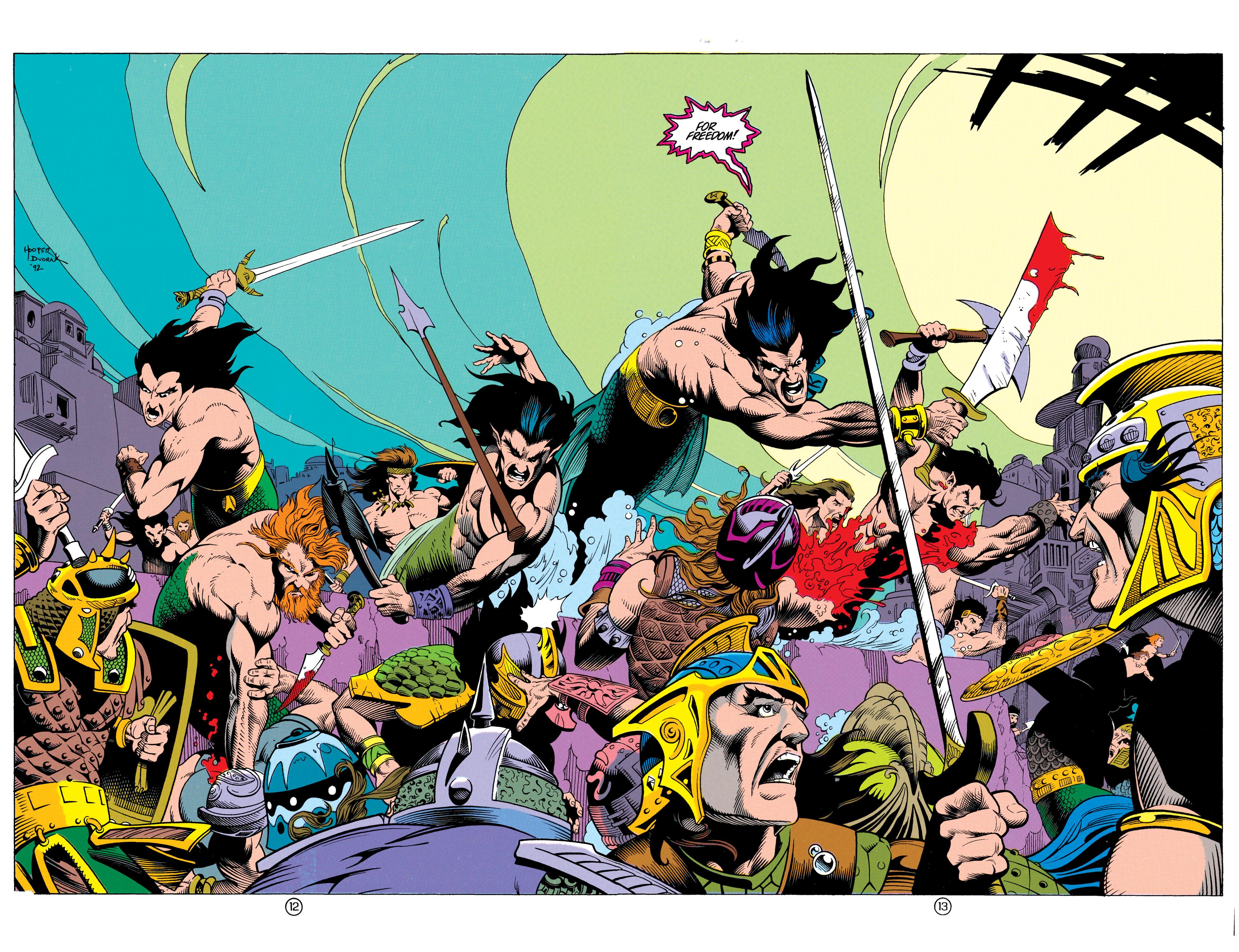 Read online Aquaman (1991) comic -  Issue #12 - 13