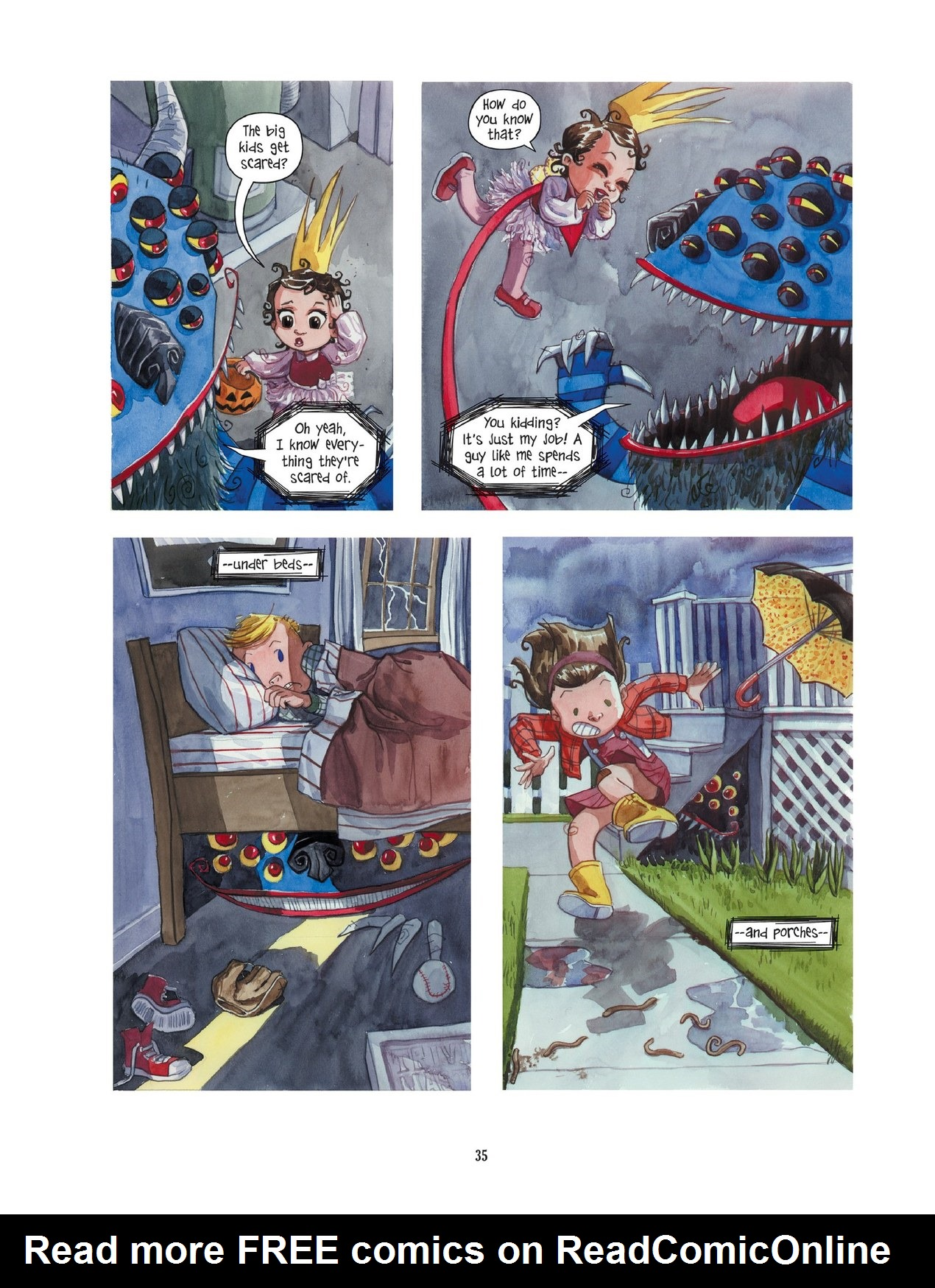 Read online Scary Godmother comic -  Issue # TPB - 35