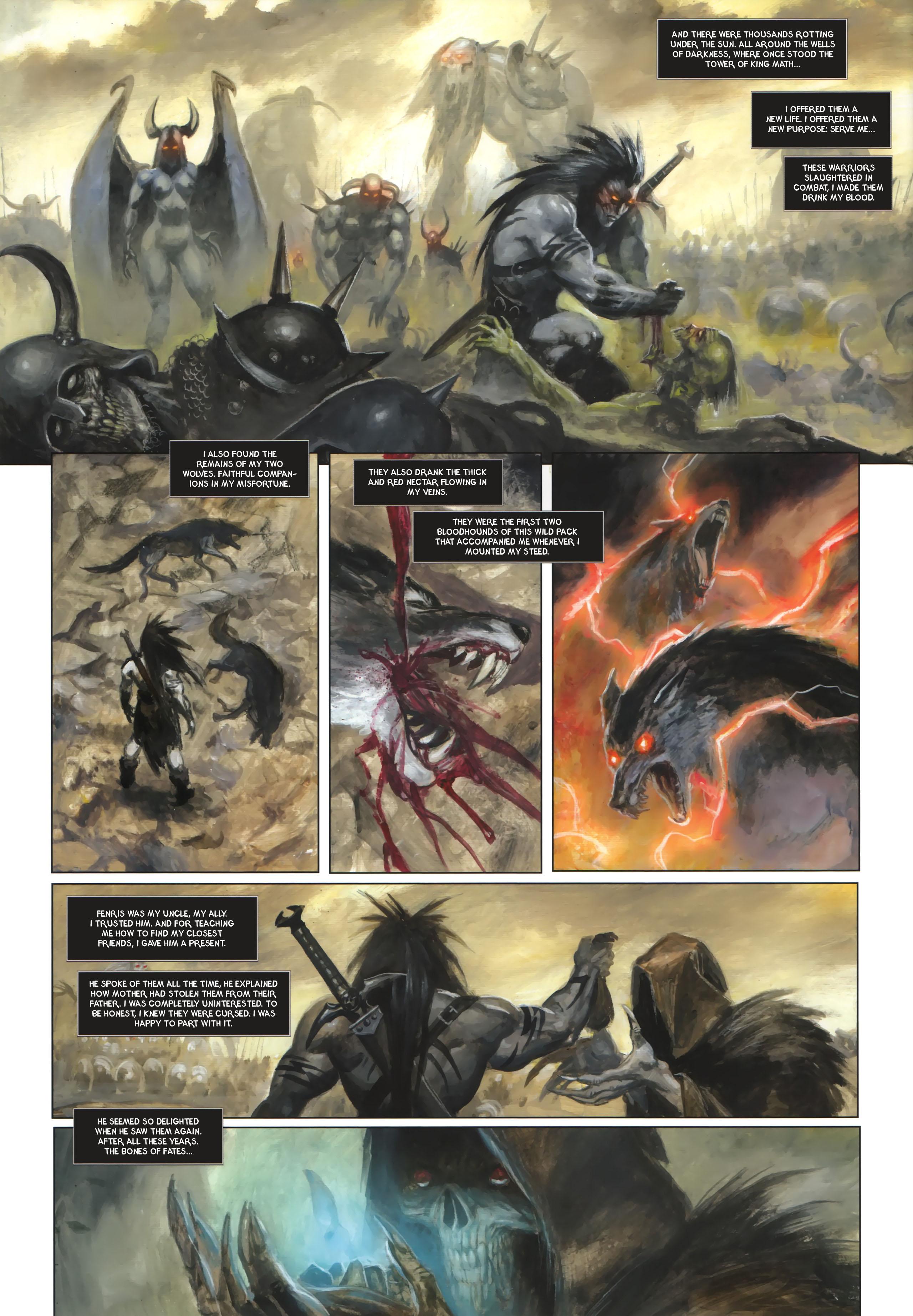 Read online Arawn comic -  Issue #6 - 31