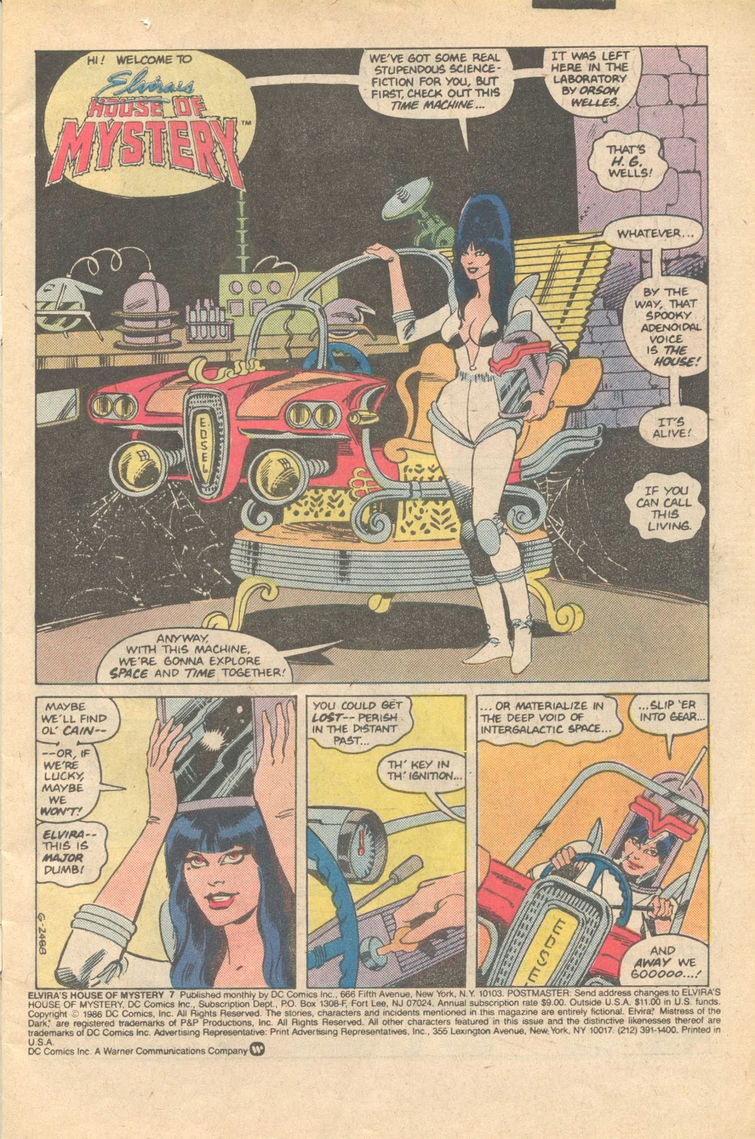 Elvira's House of Mystery Issue #7 #8 - English 2