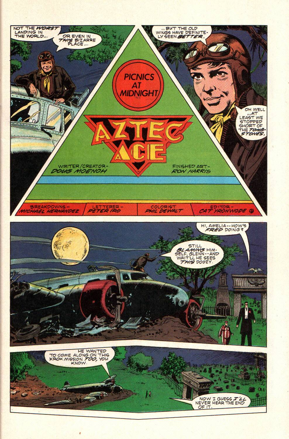 Read online Aztec Ace comic -  Issue #9 - 7