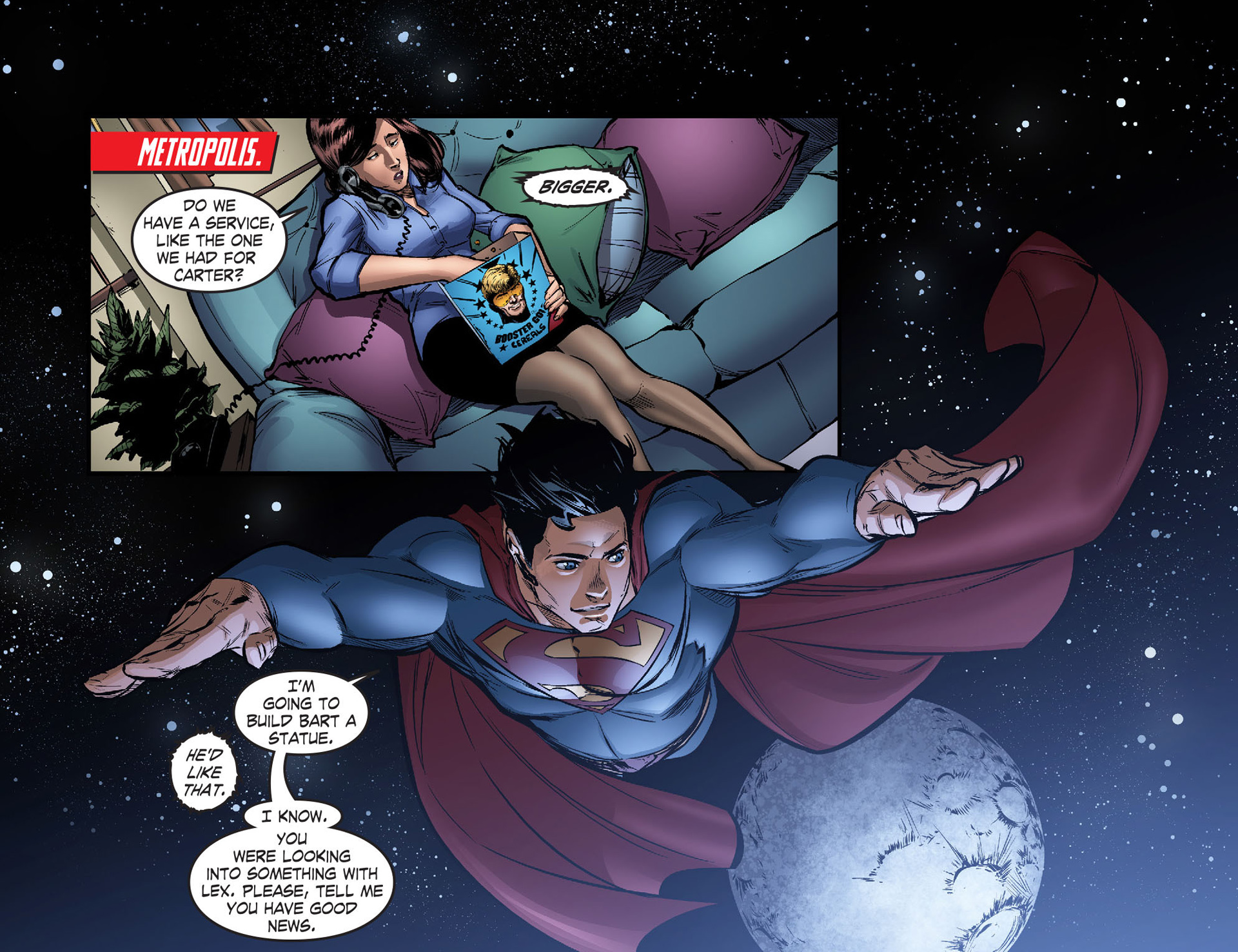 Read online Smallville: Season 11 comic -  Issue #40 - 3