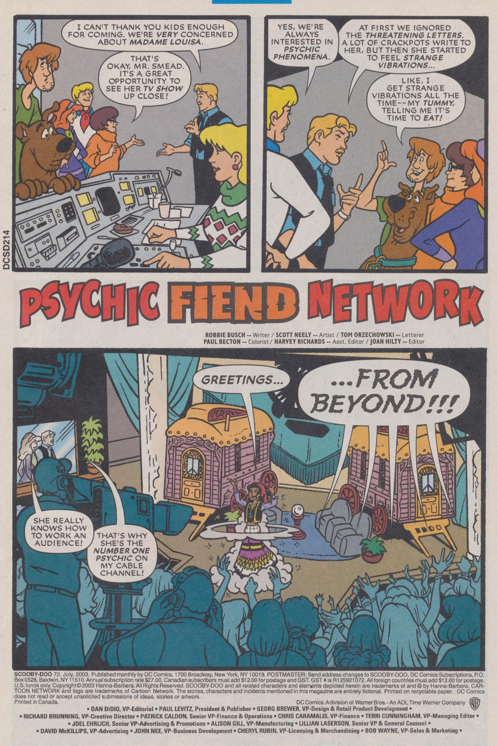Read online Scooby-Doo (1997) comic -  Issue #72 - 3