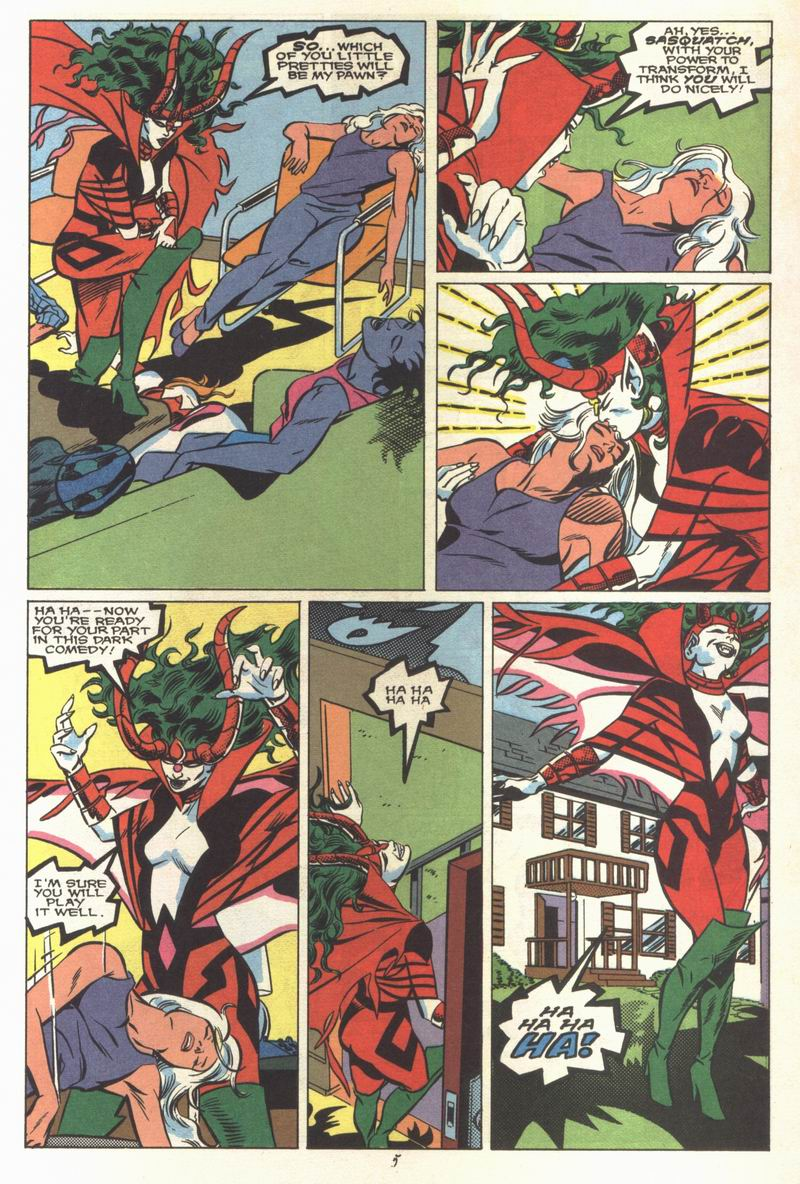 Read online Alpha Flight (1983) comic -  Issue #68 - 7
