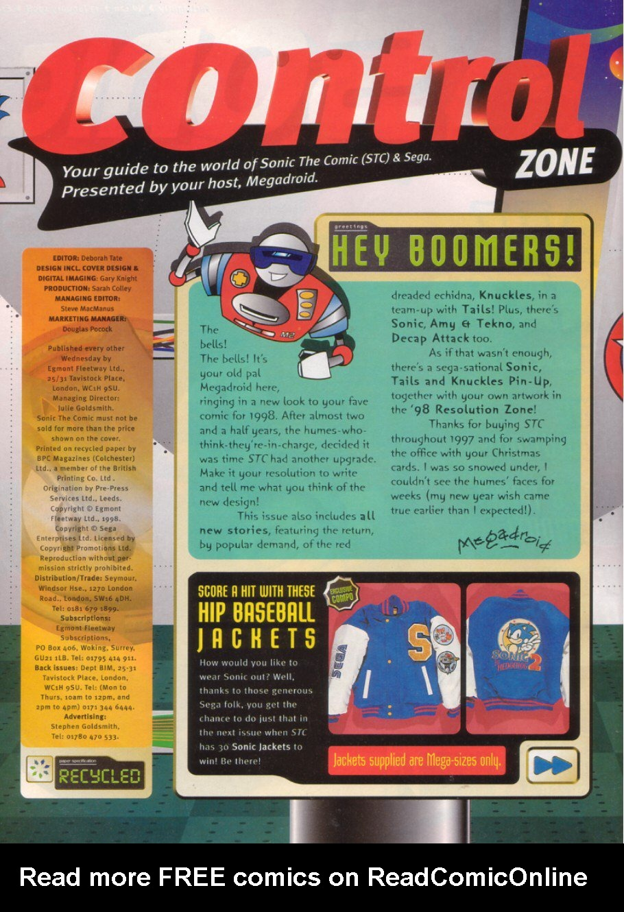 Read online Sonic the Comic comic -  Issue #120 - 2