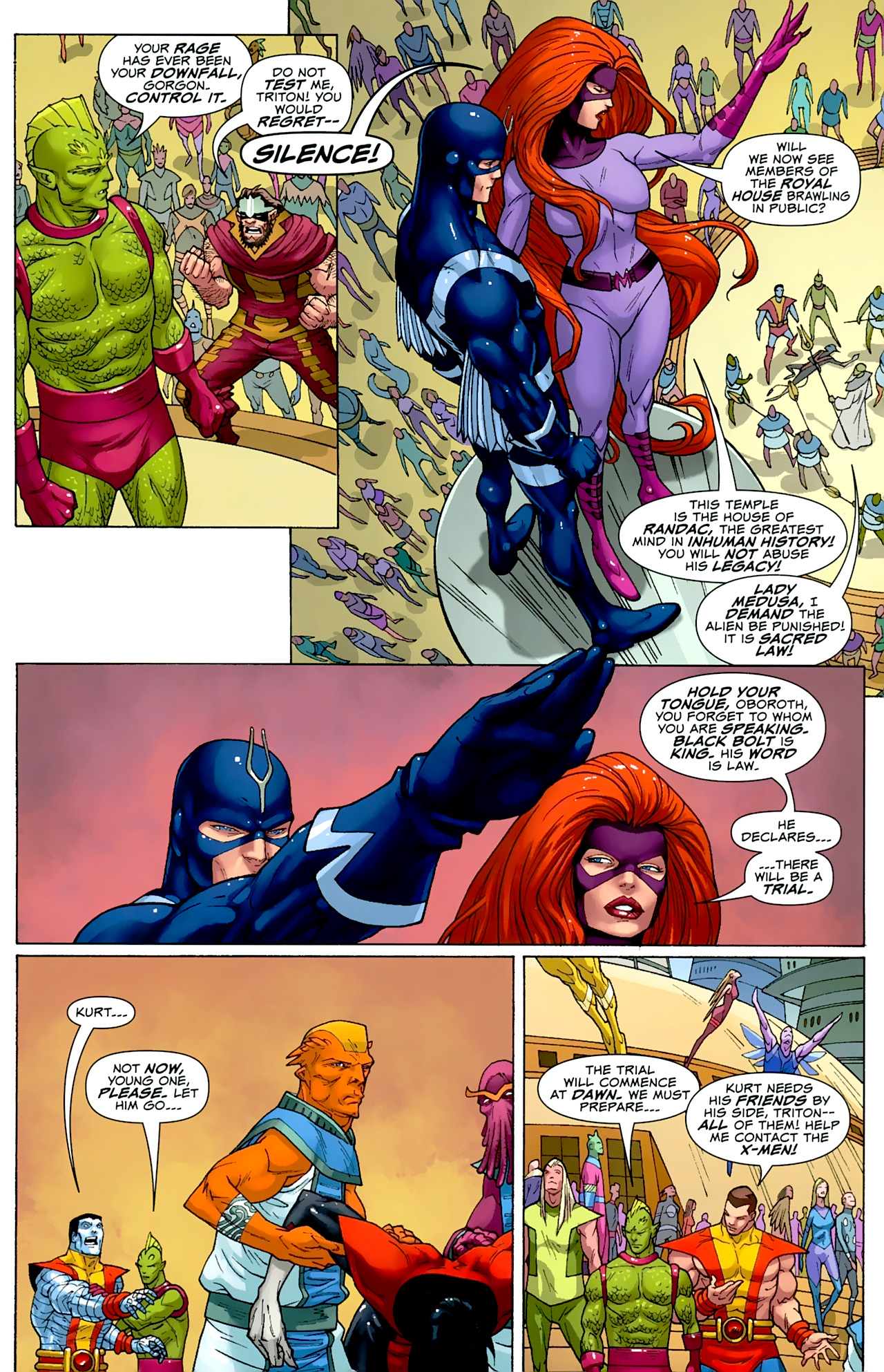 Read online Uncanny X-Men: First Class comic -  Issue #2 - 4