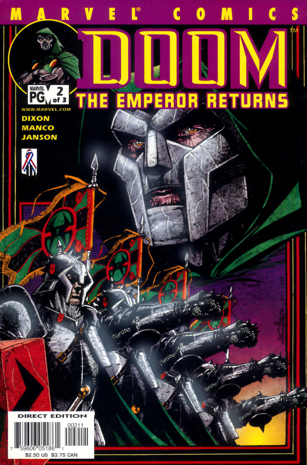 Read online Doom: The Emperor Returns comic -  Issue #1 - 1