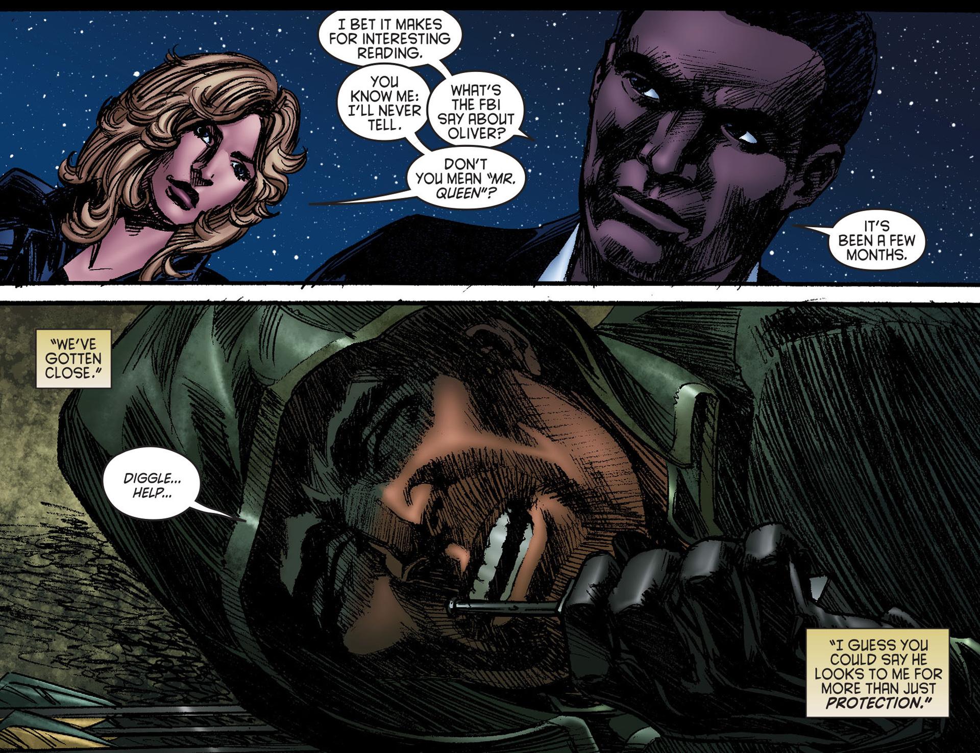 Read online Arrow [II] comic -  Issue #25 - 14