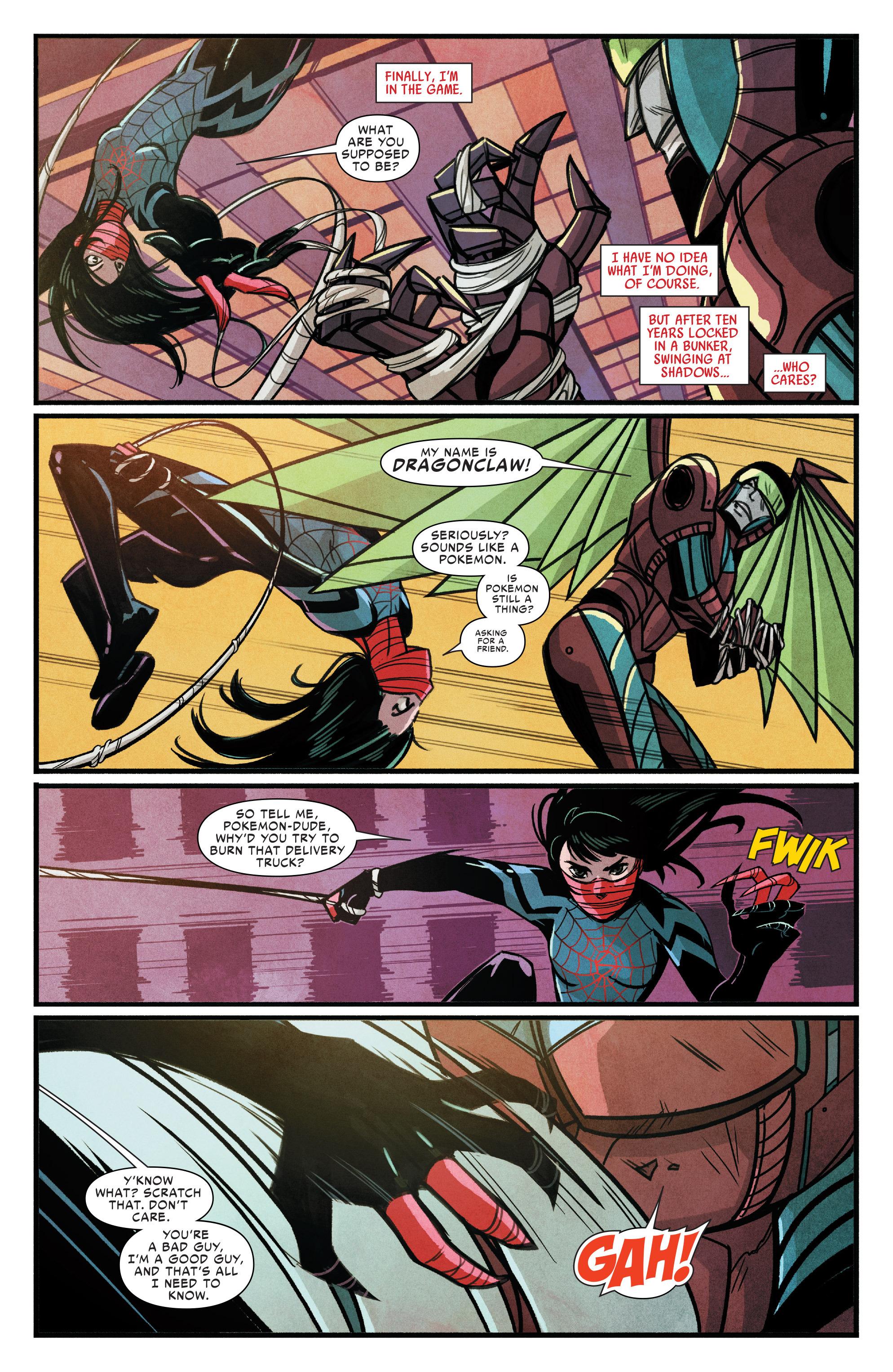 Read online Silk (2015) comic -  Issue #1 - 4