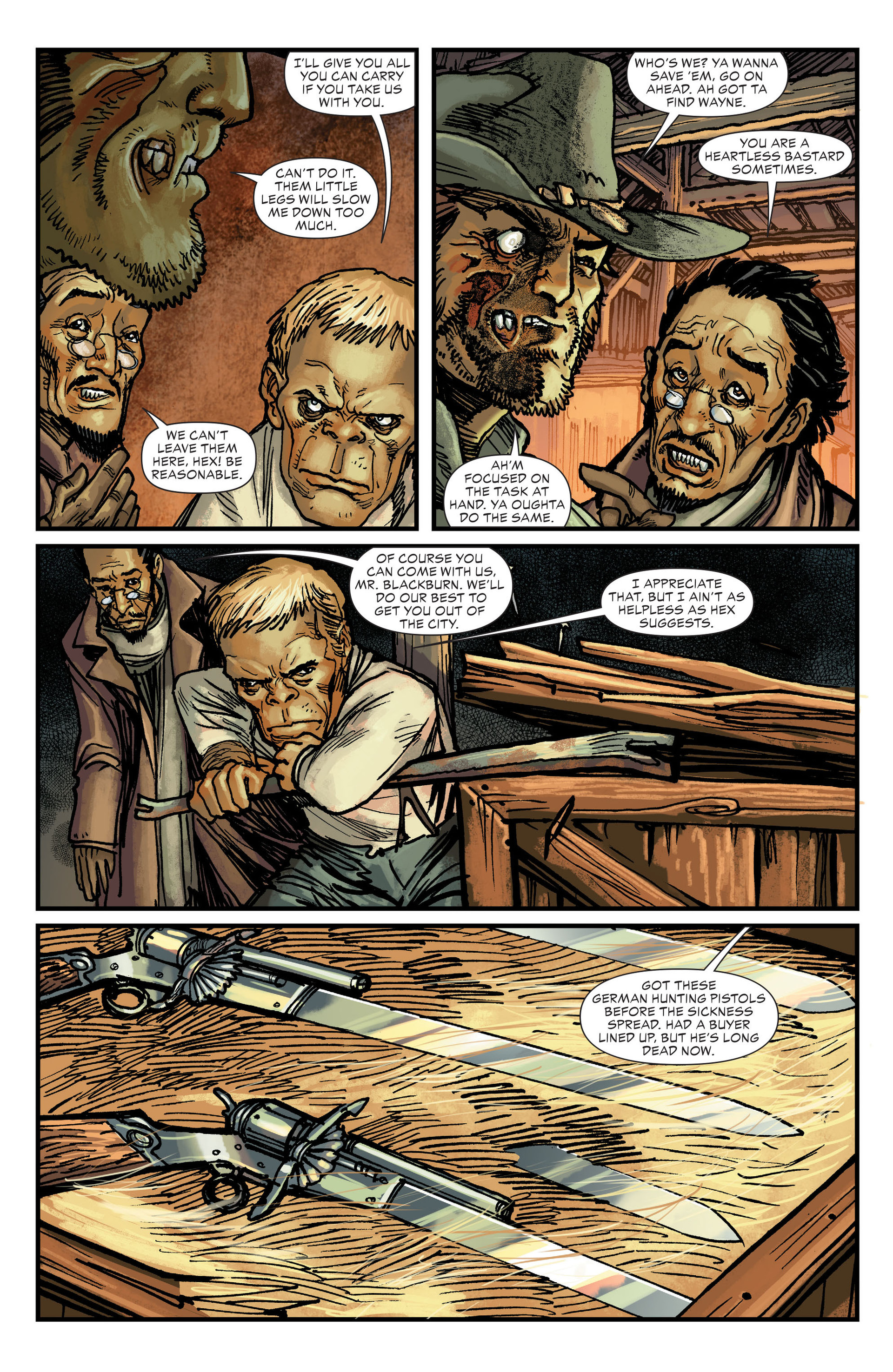 Read online All-Star Western (2011) comic -  Issue #18 - 9