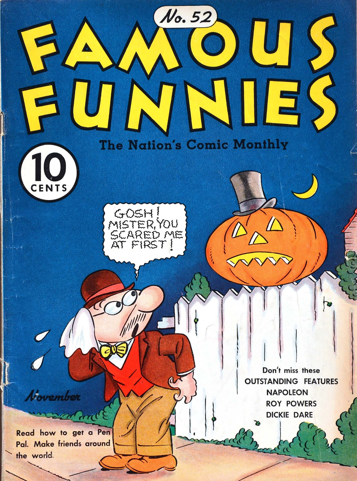 Read online Famous Funnies comic -  Issue #52 - 1