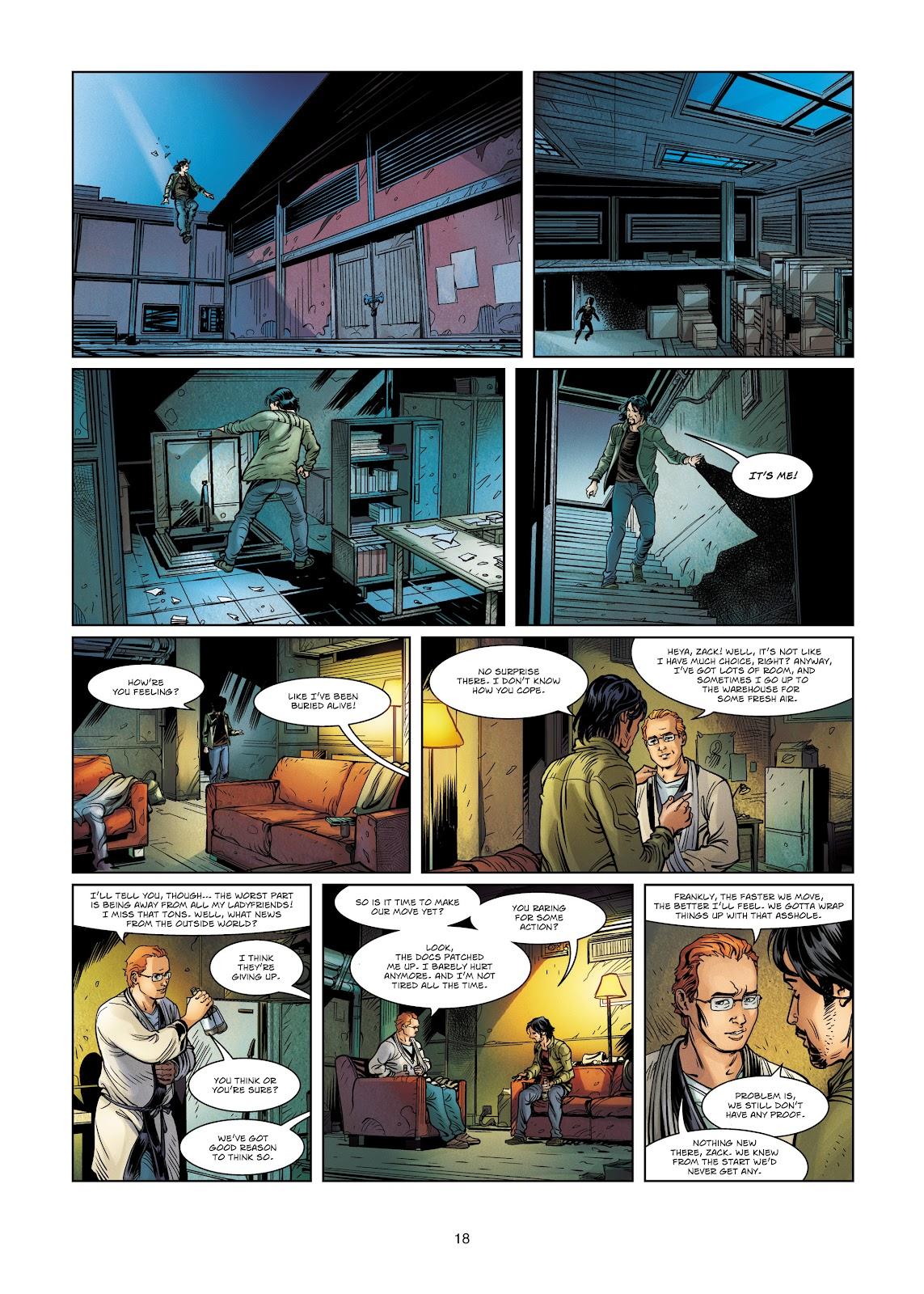 Read online Vigilantes comic -  Issue #4 - 18