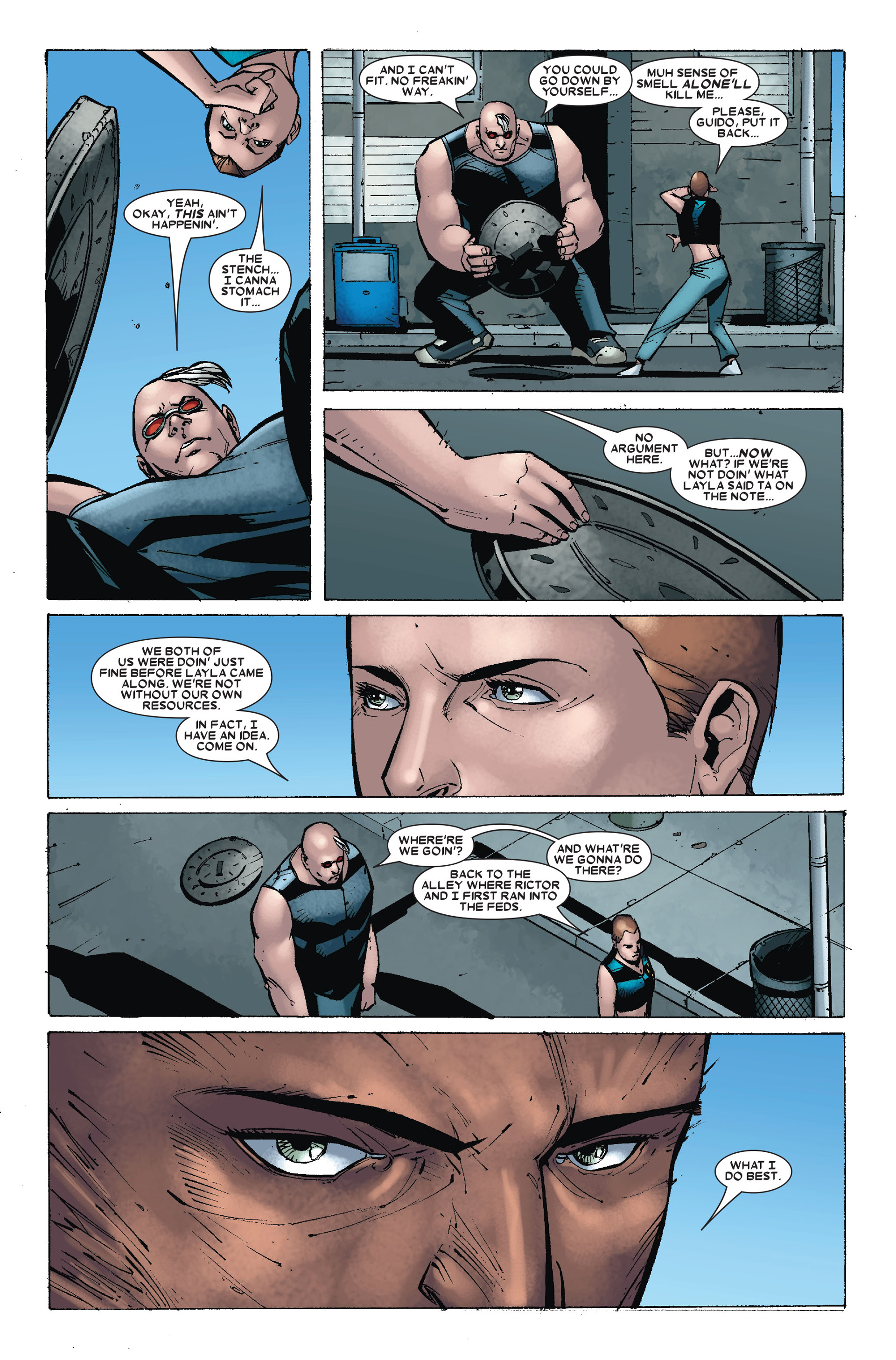 Read online X-Factor (2006) comic -  Issue #18 - 16