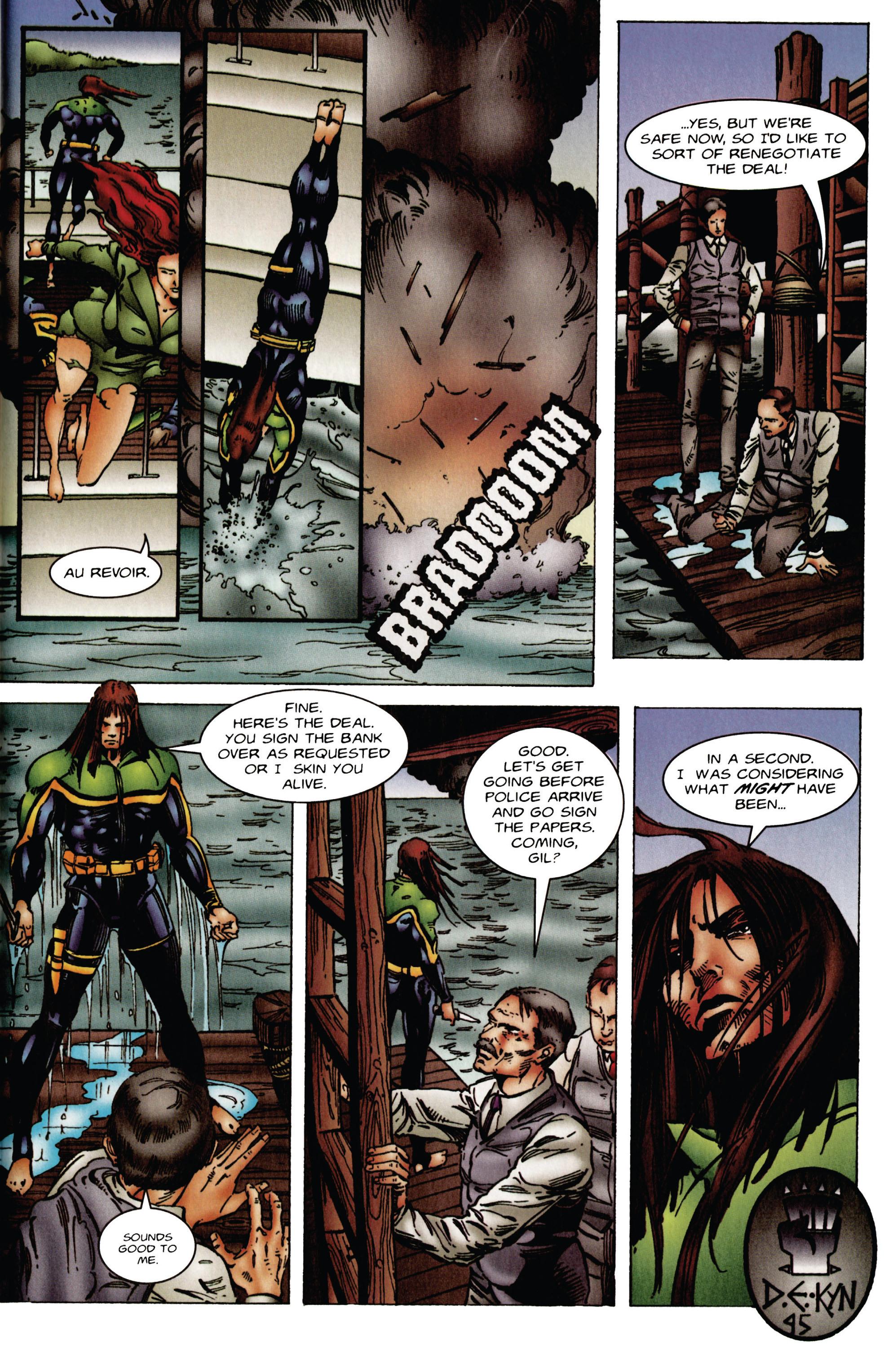 Read online Eternal Warrior (1992) comic -  Issue #46 - 22