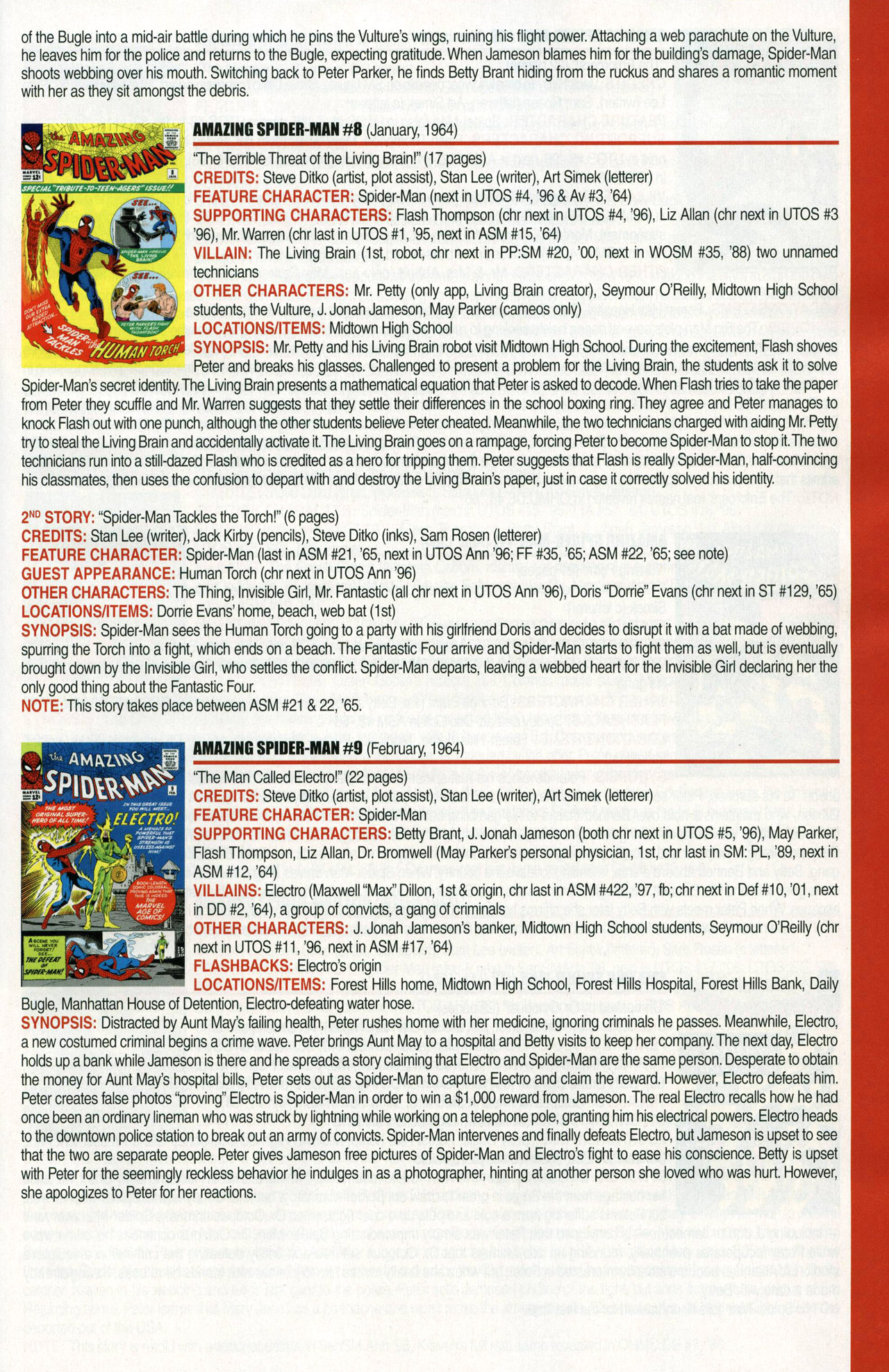 Read online Official Index to the Marvel Universe comic -  Issue #1 - 7