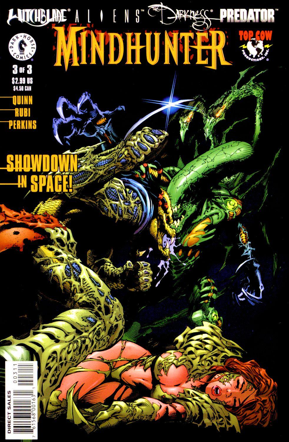 Witchblade/Aliens/The Darkness/Predator: Mindhunter 3 Page 1