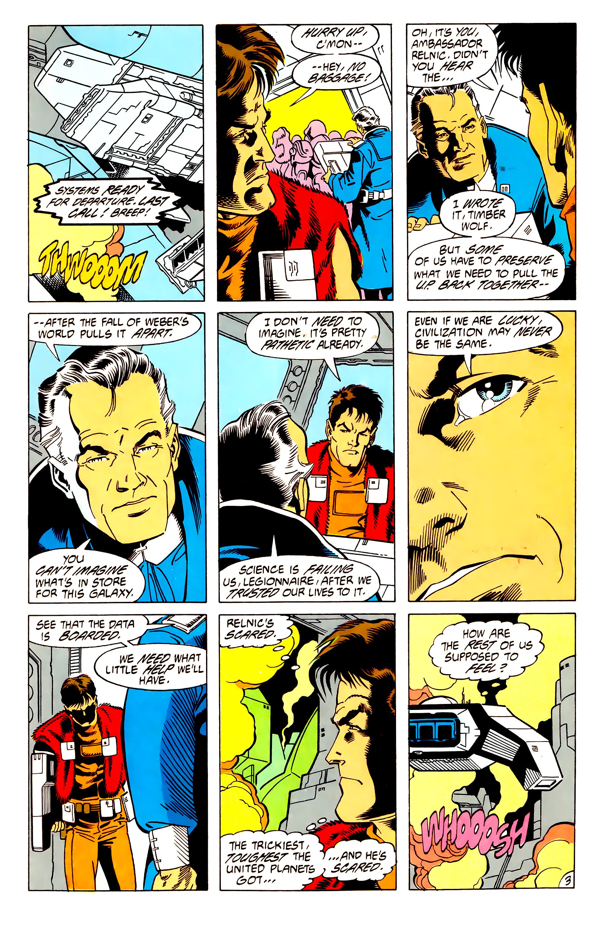 Legion of Super-Heroes (1984) 62 Page 3