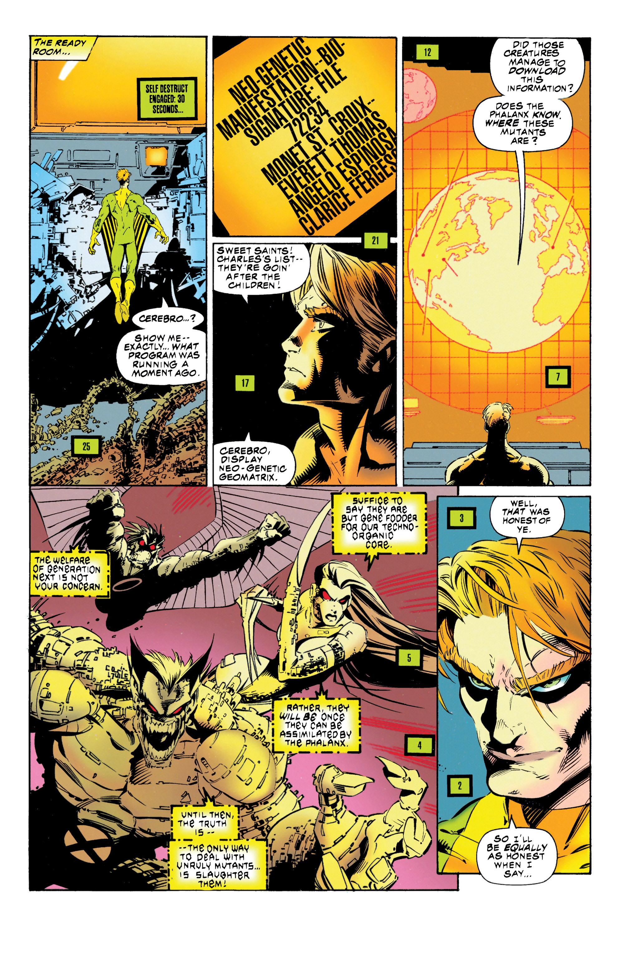 Read online Uncanny X-Men (1963) comic -  Issue #316 - 23