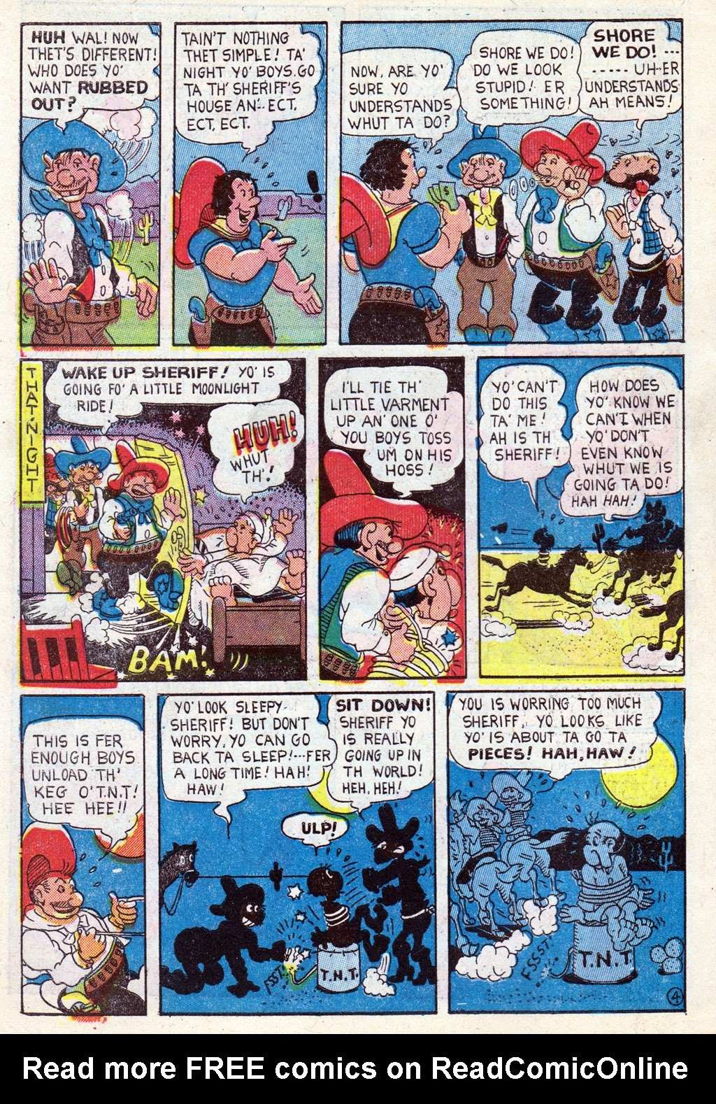 Cowboy Western Comics (1948) issue 18 - Page 10