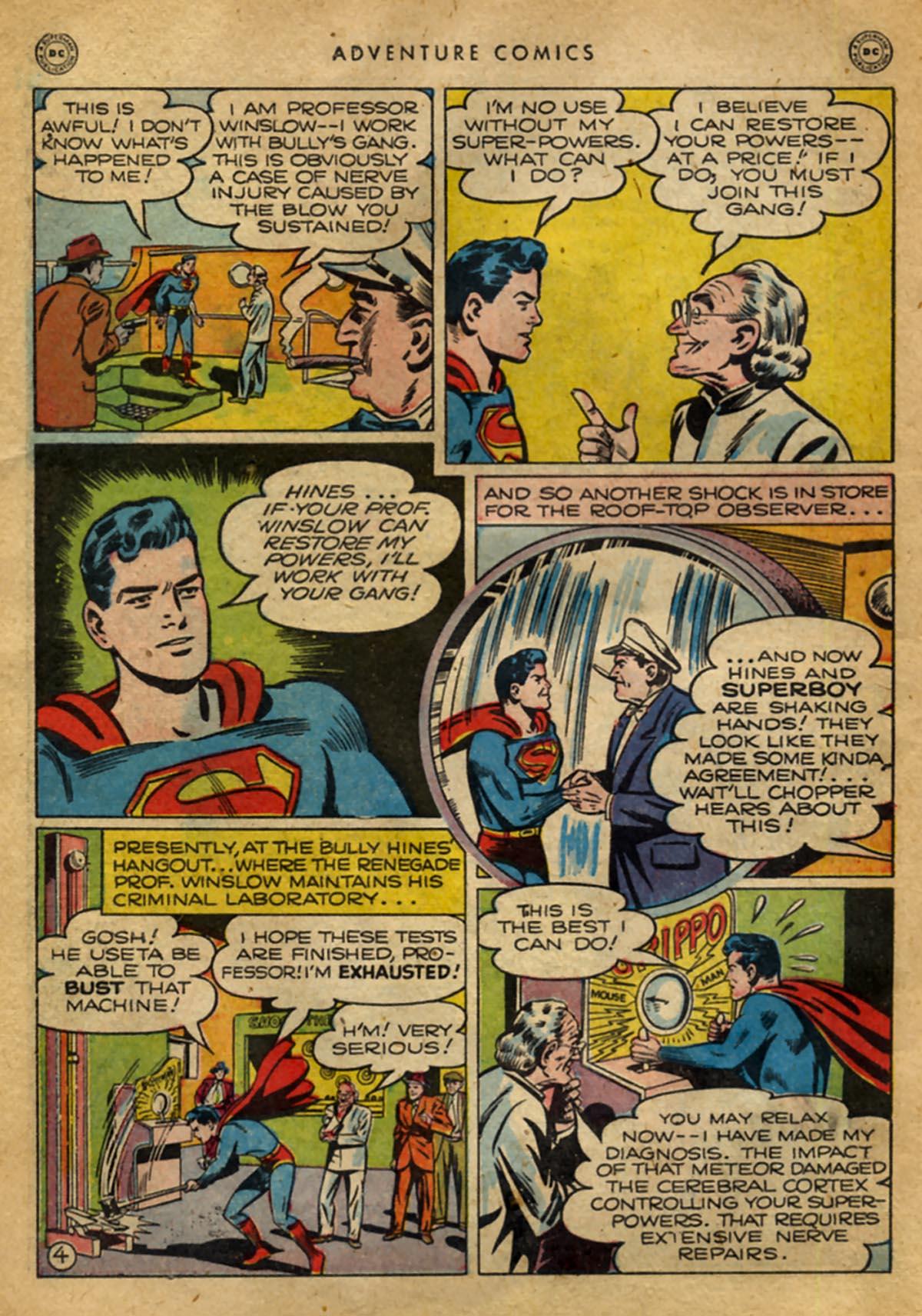 Read online Adventure Comics (1938) comic -  Issue #141 - 6