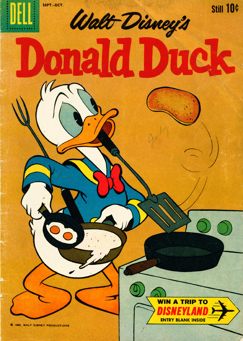 Walt Disney's Donald Duck (1952) issue 73 - Page 1