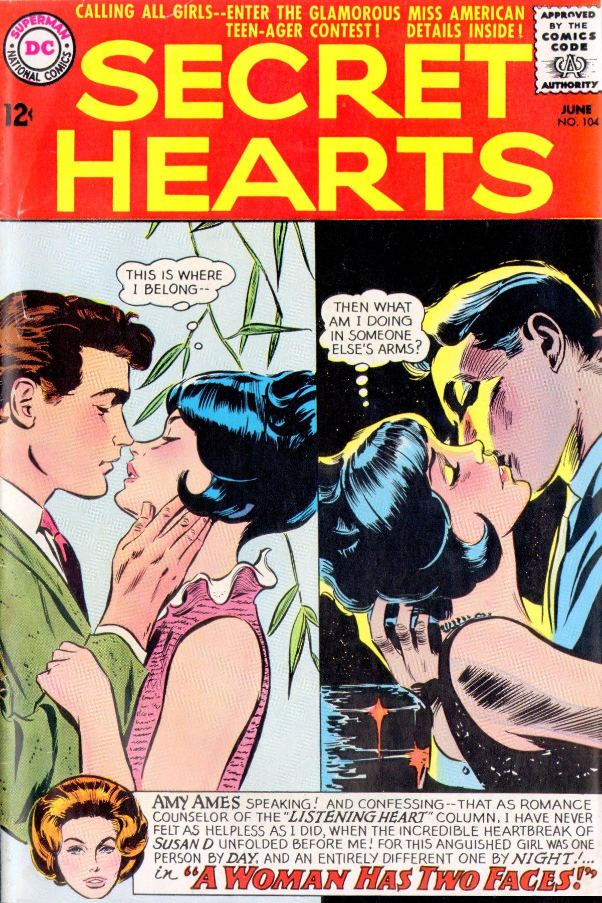 Read online Secret Hearts comic -  Issue #104 - 1
