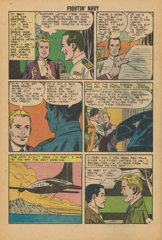 Read online Fightin' Navy comic -  Issue #112 - 16