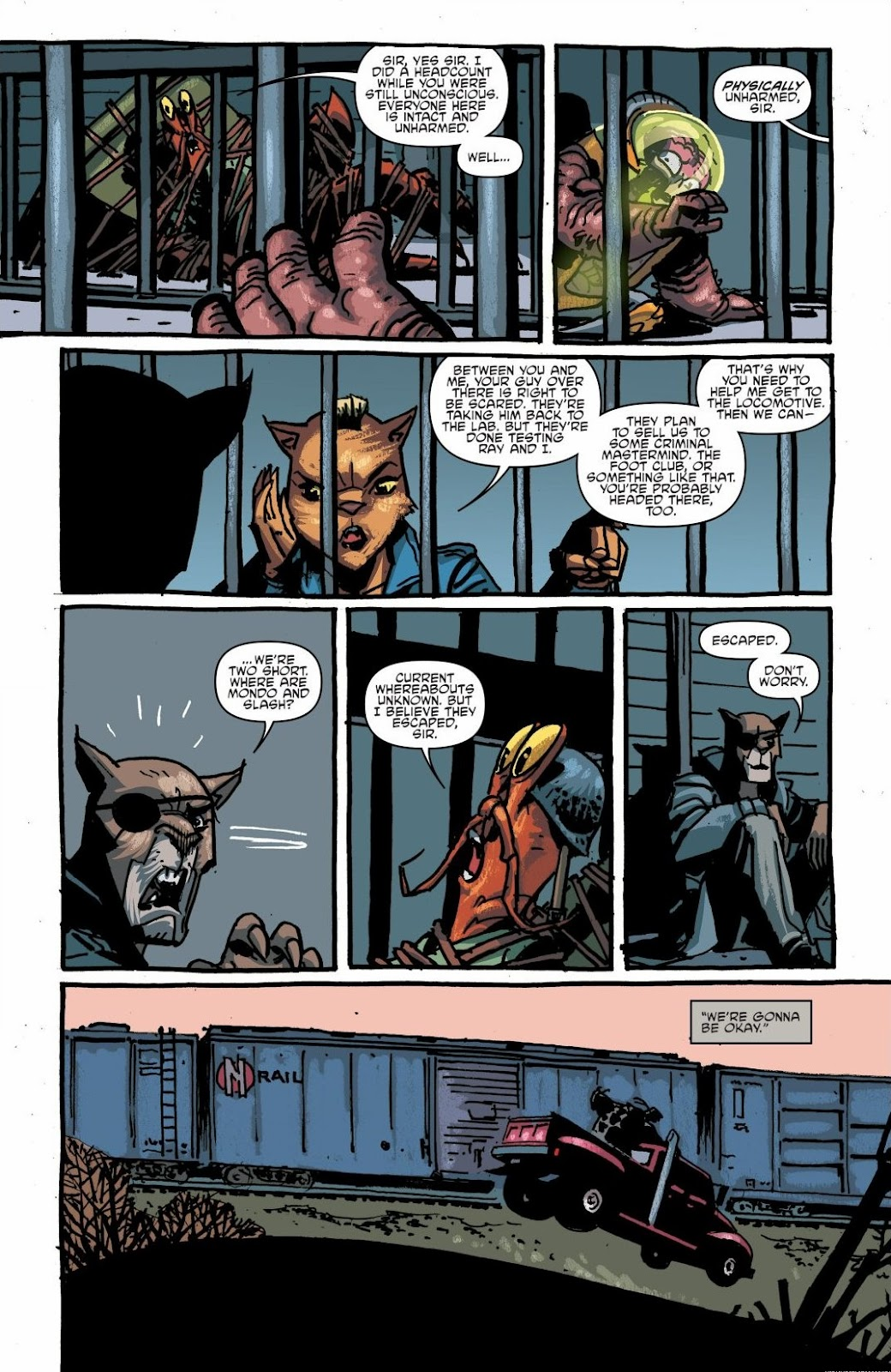Read online Teenage Mutant Ninja Turtles: The IDW Collection comic -  Issue # TPB 6 (Part 1) - 56