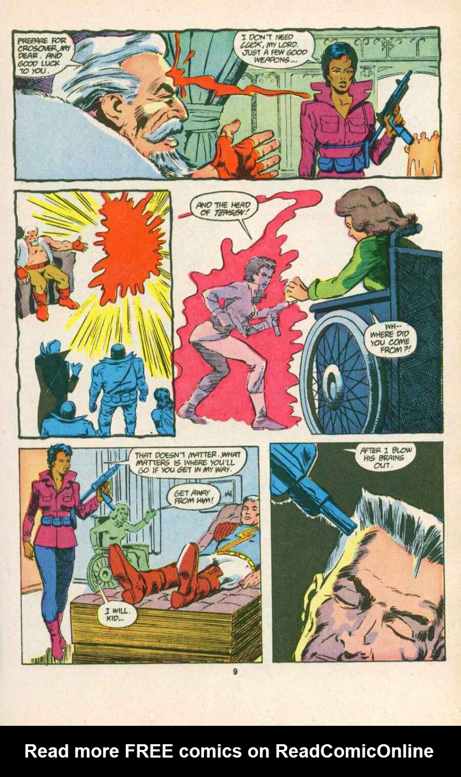 Read online Justice (1986) comic -  Issue #15 - 10