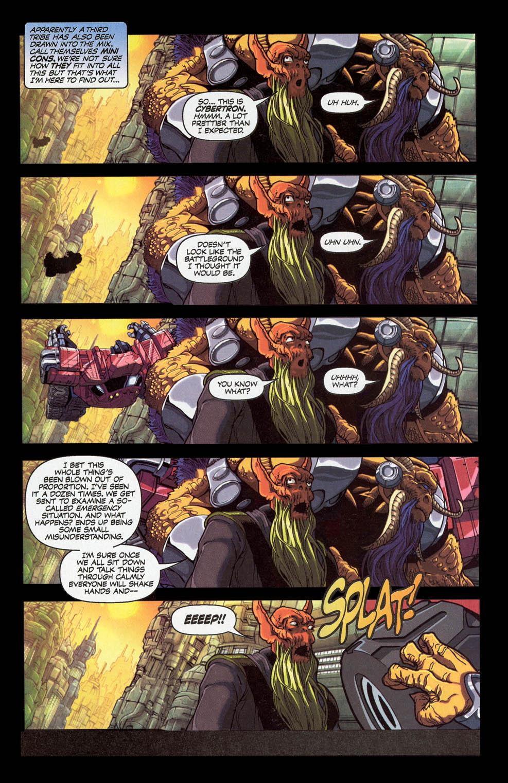 Read online Transformers Armada comic -  Issue #0 - 4