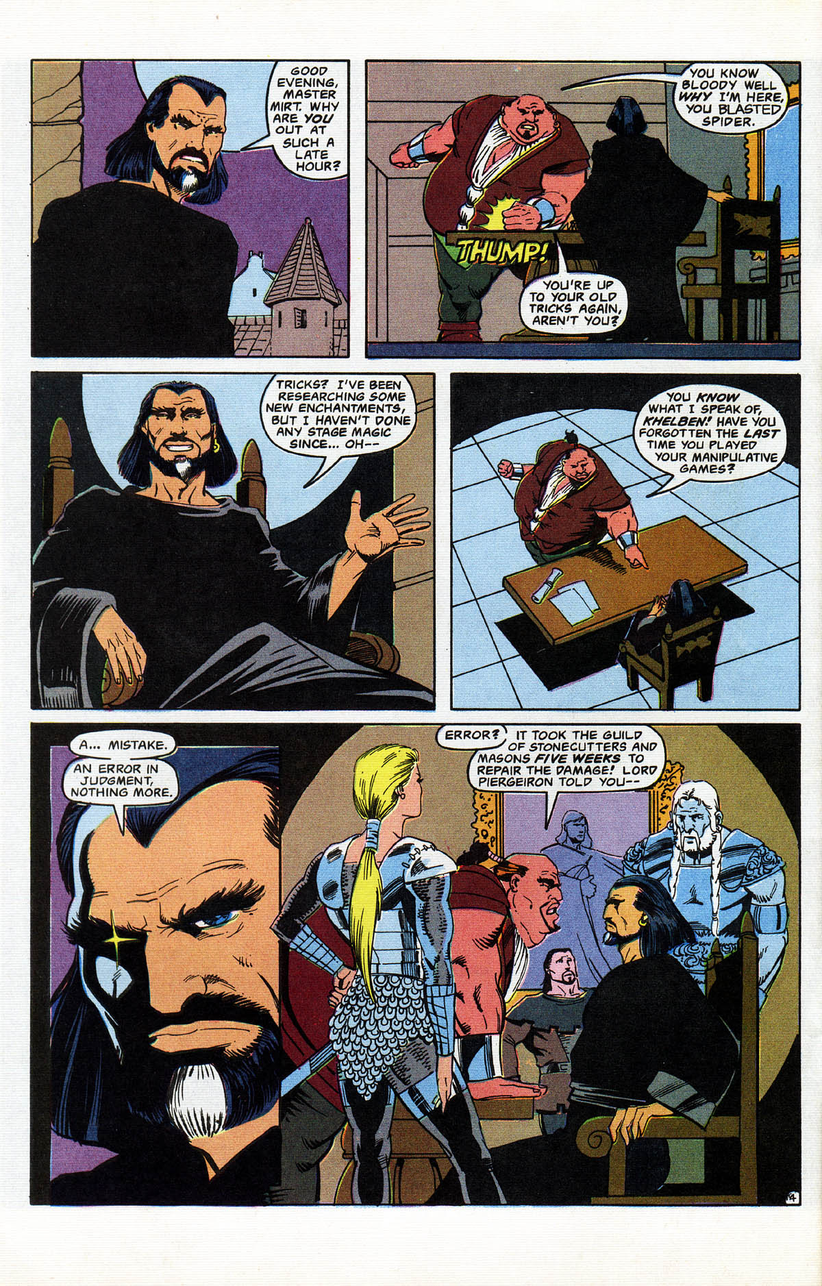 Read online Advanced Dungeons & Dragons comic -  Issue #11 - 5