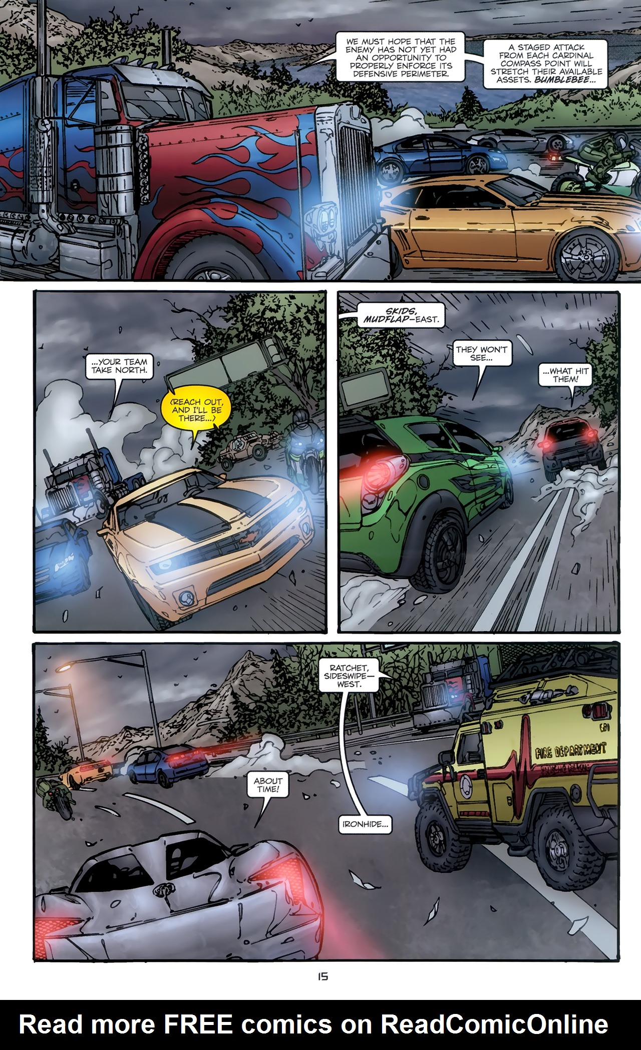 Read online Transformers: Nefarious comic -  Issue #5 - 18