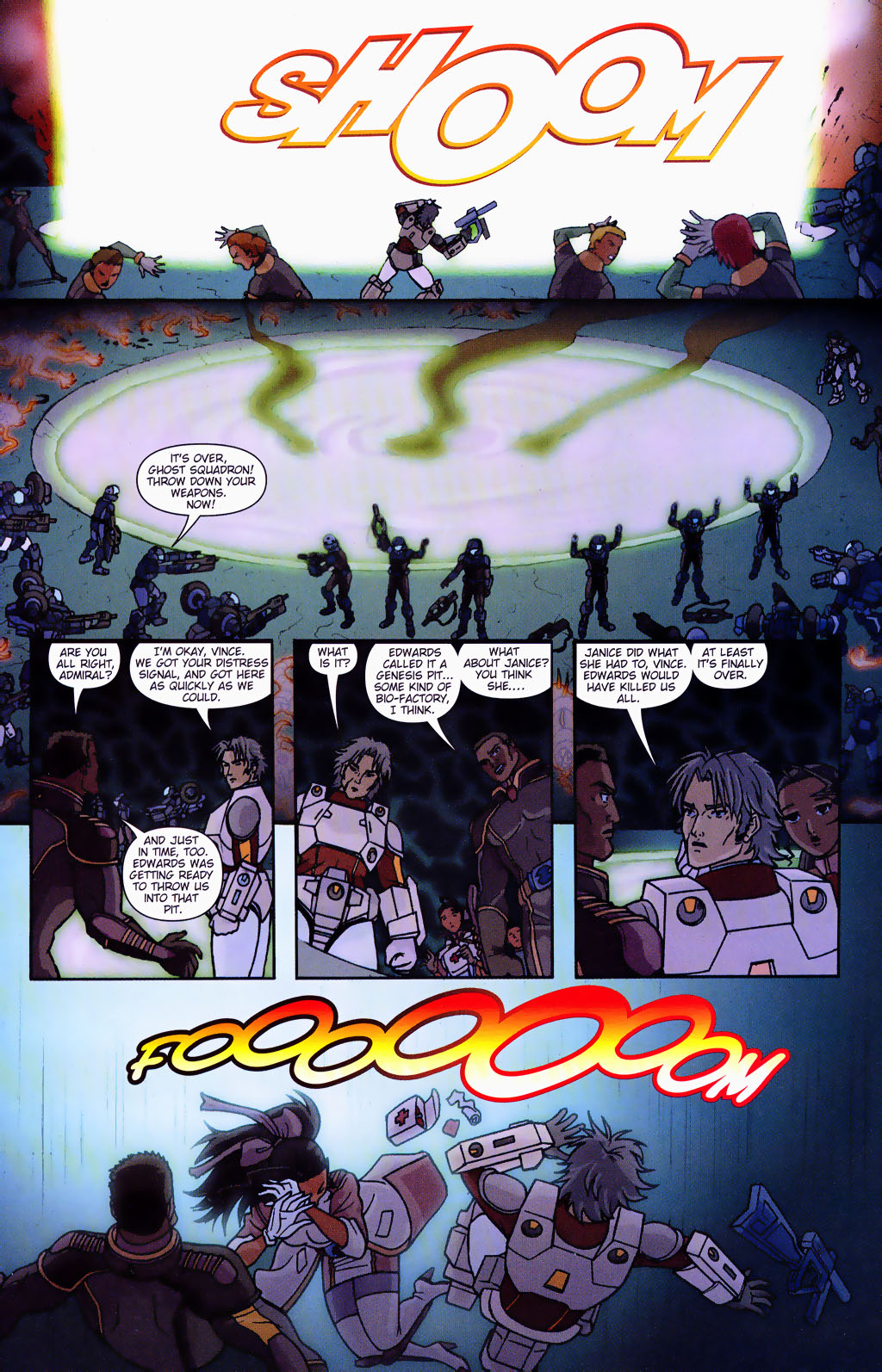 Read online Robotech: Prelude to the Shadow Chronicles comic -  Issue #4 - 19