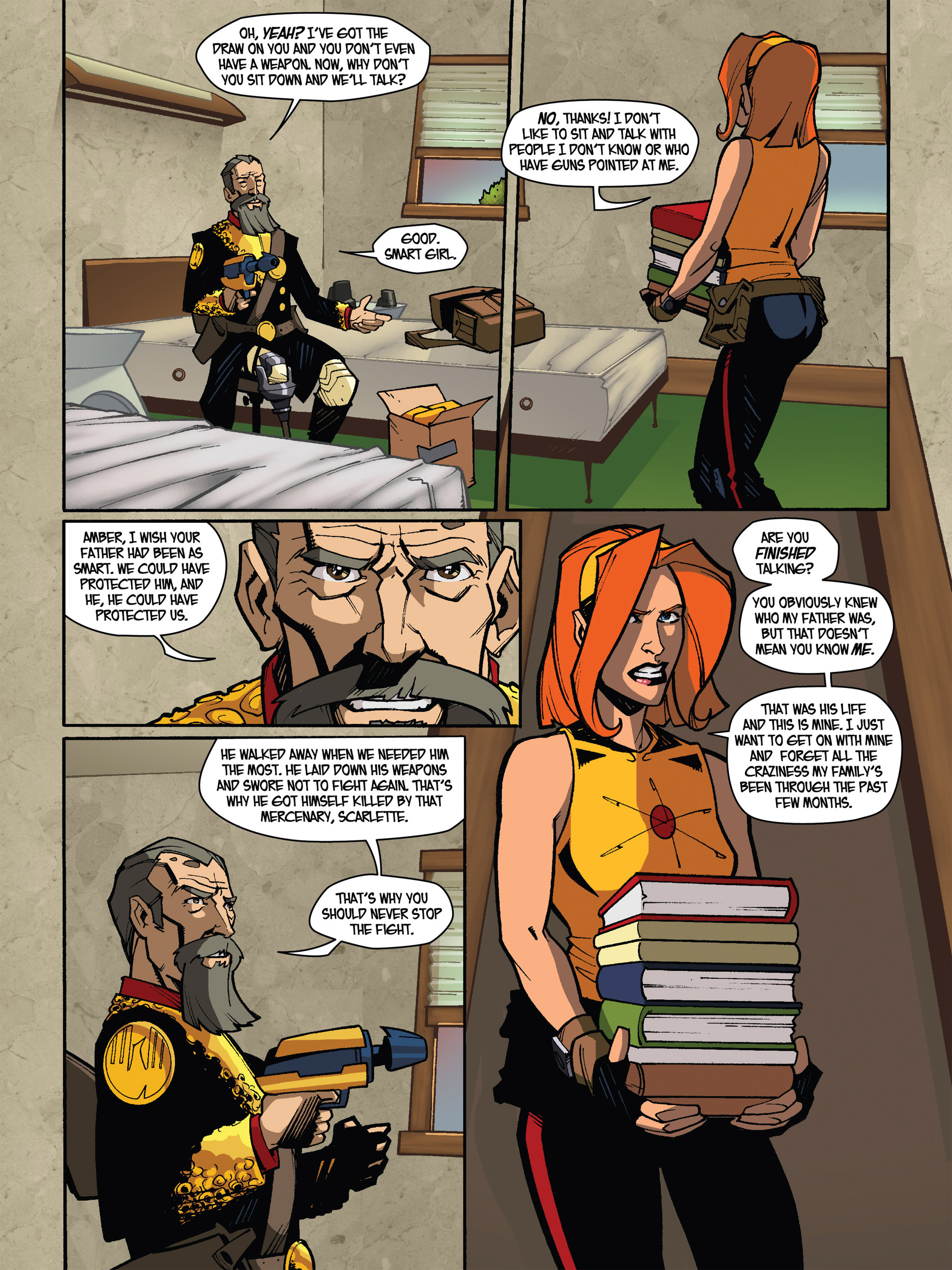 Read online Amber Atoms comic -  Issue #5 - 10