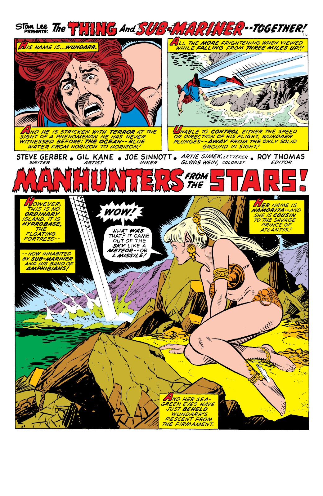 Read online Marvel Two-In-One Epic Collection: Cry Monster comic -  Issue # TPB (Part 1) - 66