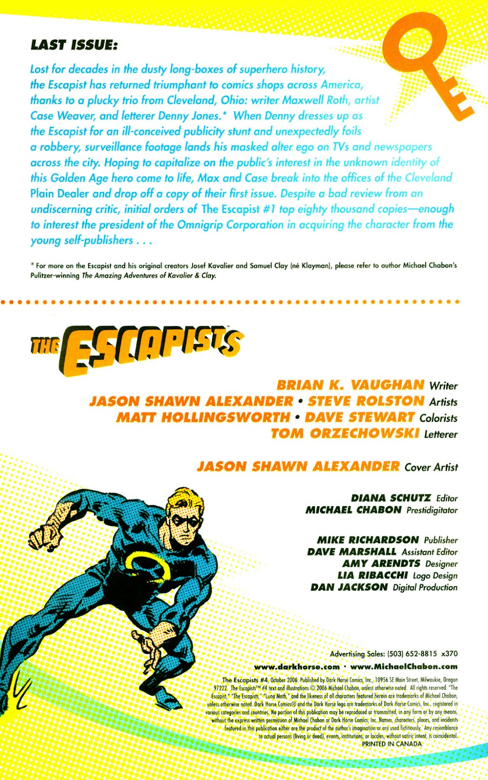 Read online The Escapists comic -  Issue #4 - 3