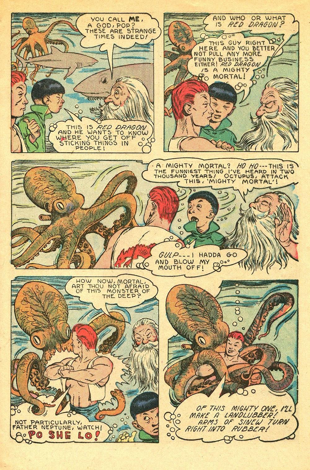 Read online Super-Magician Comics comic -  Issue #56 - 9