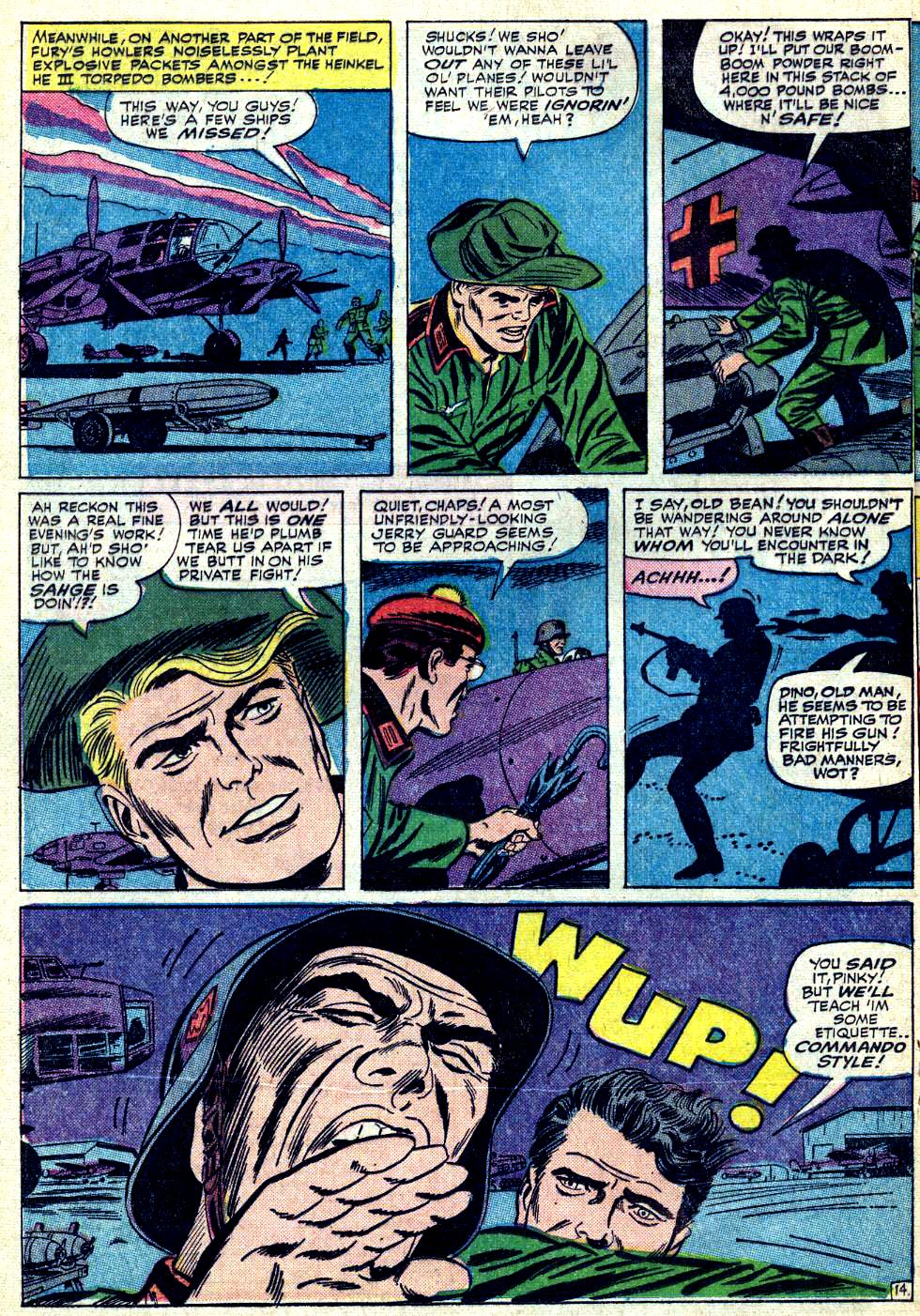 Read online Sgt. Fury comic -  Issue #19 - 20