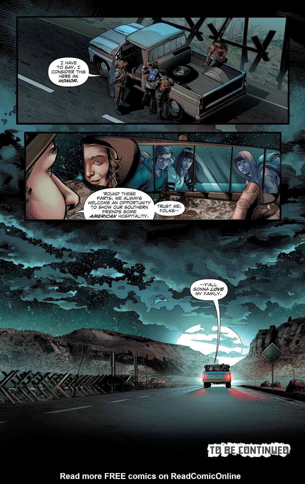 Read online Red Border comic -  Issue #1 - 23