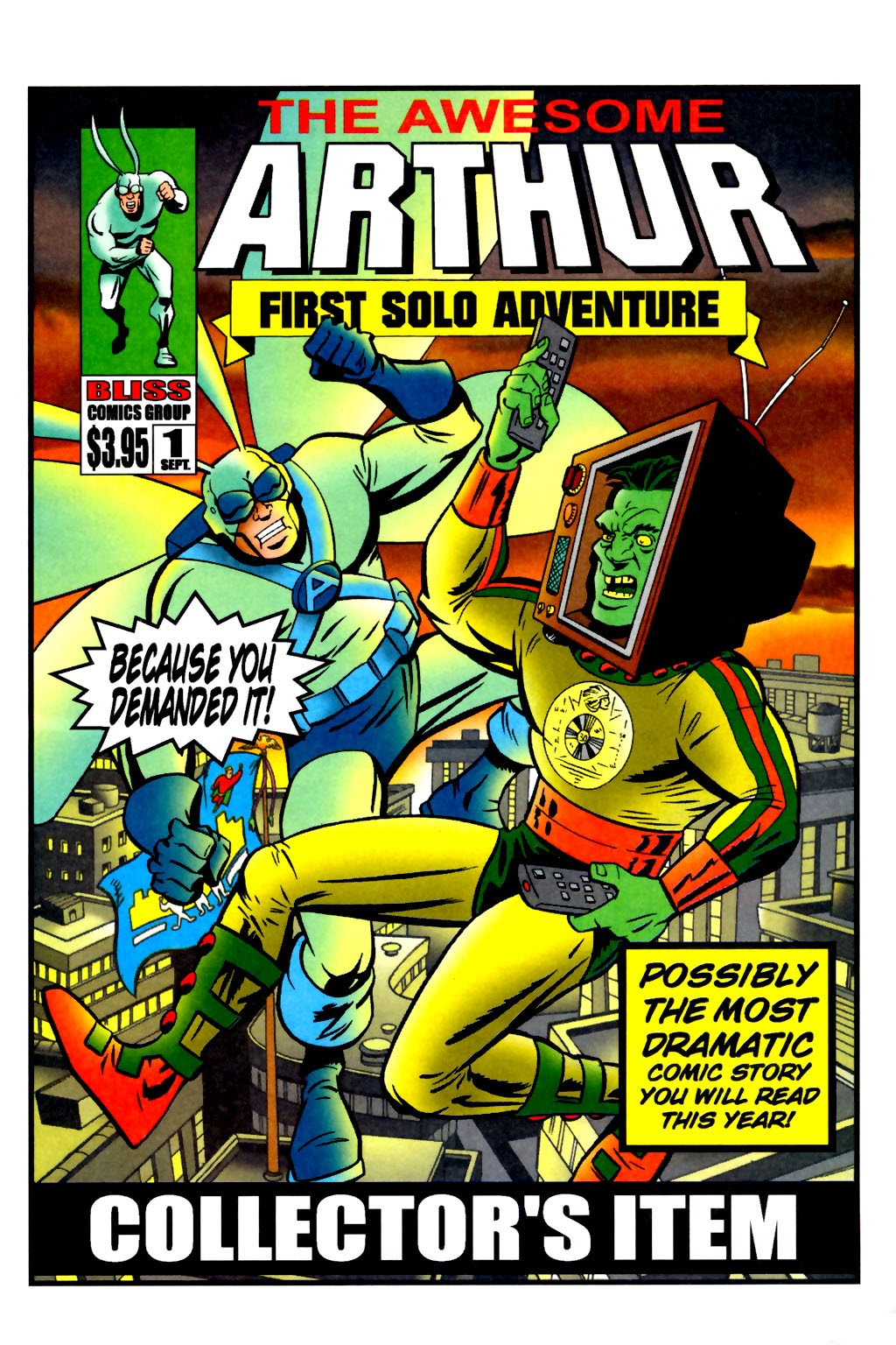 Read online The Tick: Days of Drama comic -  Issue #2 - 22