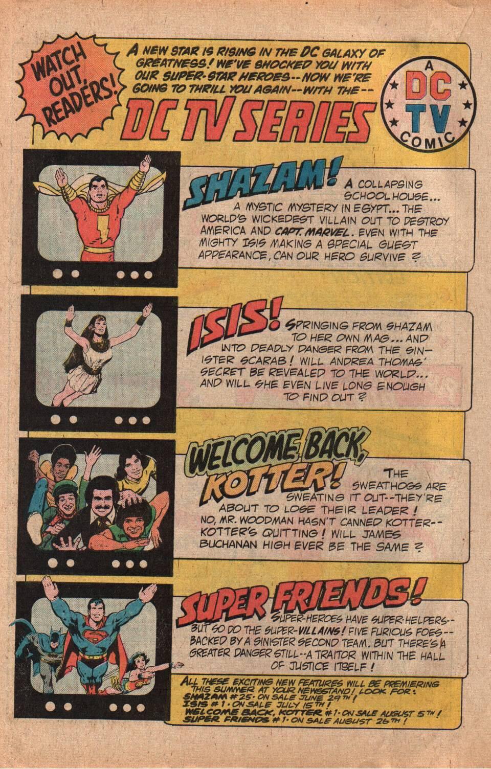 Read online Shazam! (1973) comic -  Issue #25 - 20