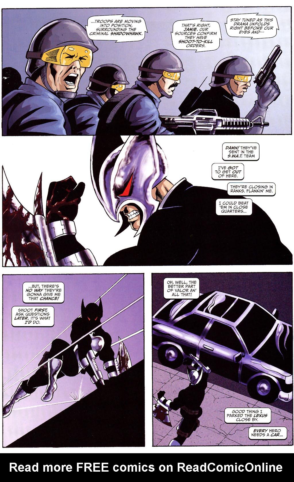 Read online ShadowHawk (2005) comic -  Issue #12 - 9