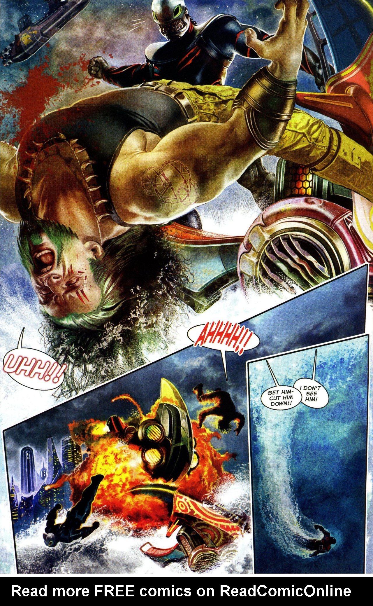 Read online Shark-Man comic -  Issue #3 - 8
